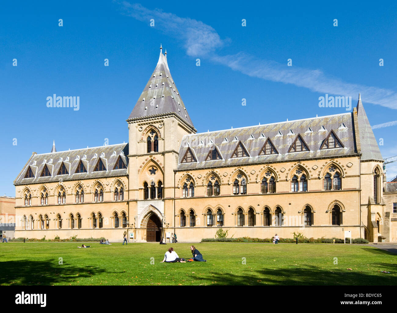The Oxford University Museum of Natural History and Pitt Rivers Museum, Oxford, England - Stock Image