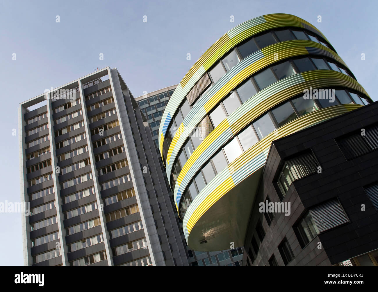 View of the headquarters building of the consumer assistance office in Markgrafenstrasse, Berlin, Germany, Europe - Stock Image