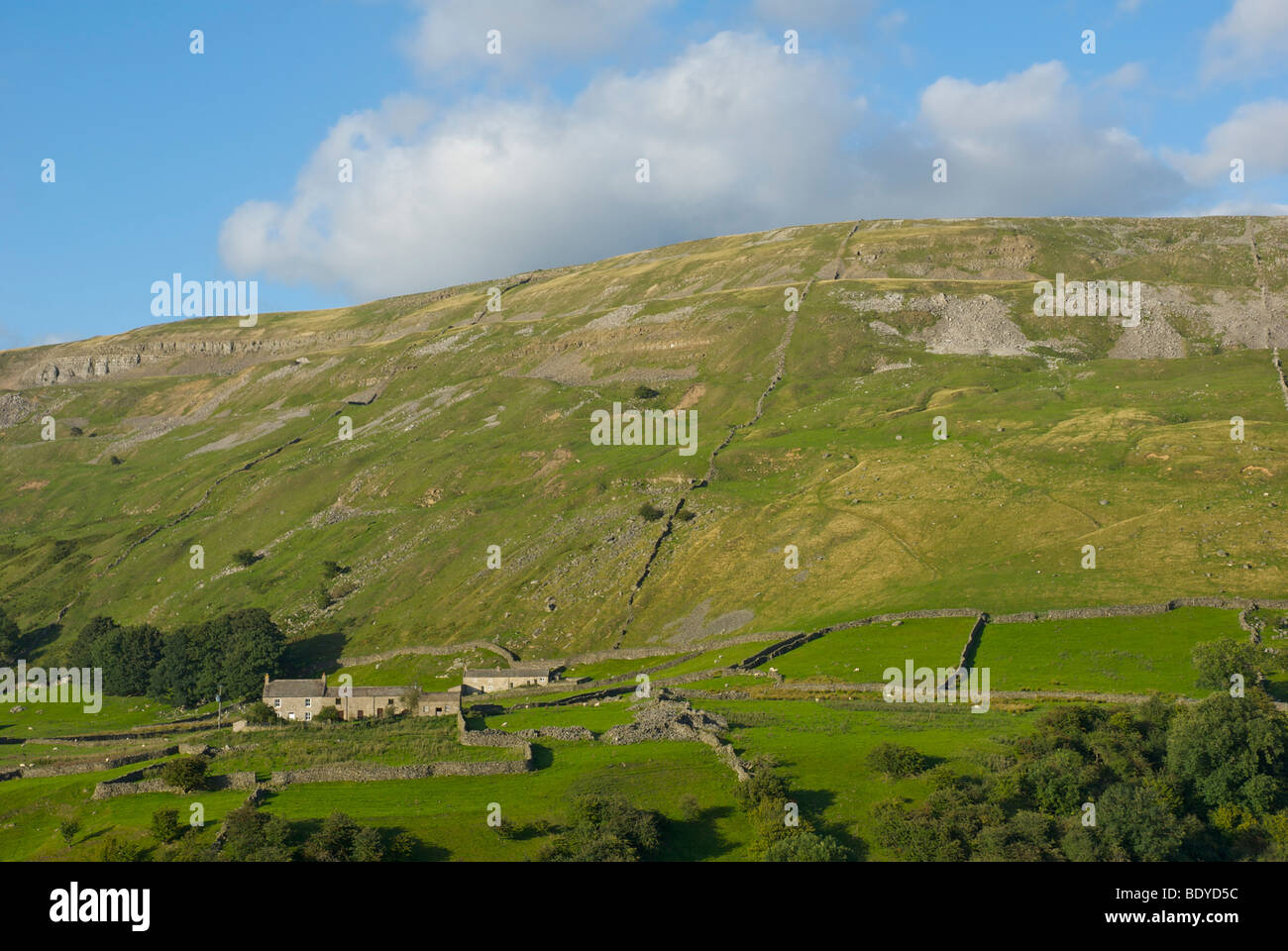 Cottages in Arkengarthdale, Yorkshire Dales National Park, North Yorkshire, England UK - Stock Image