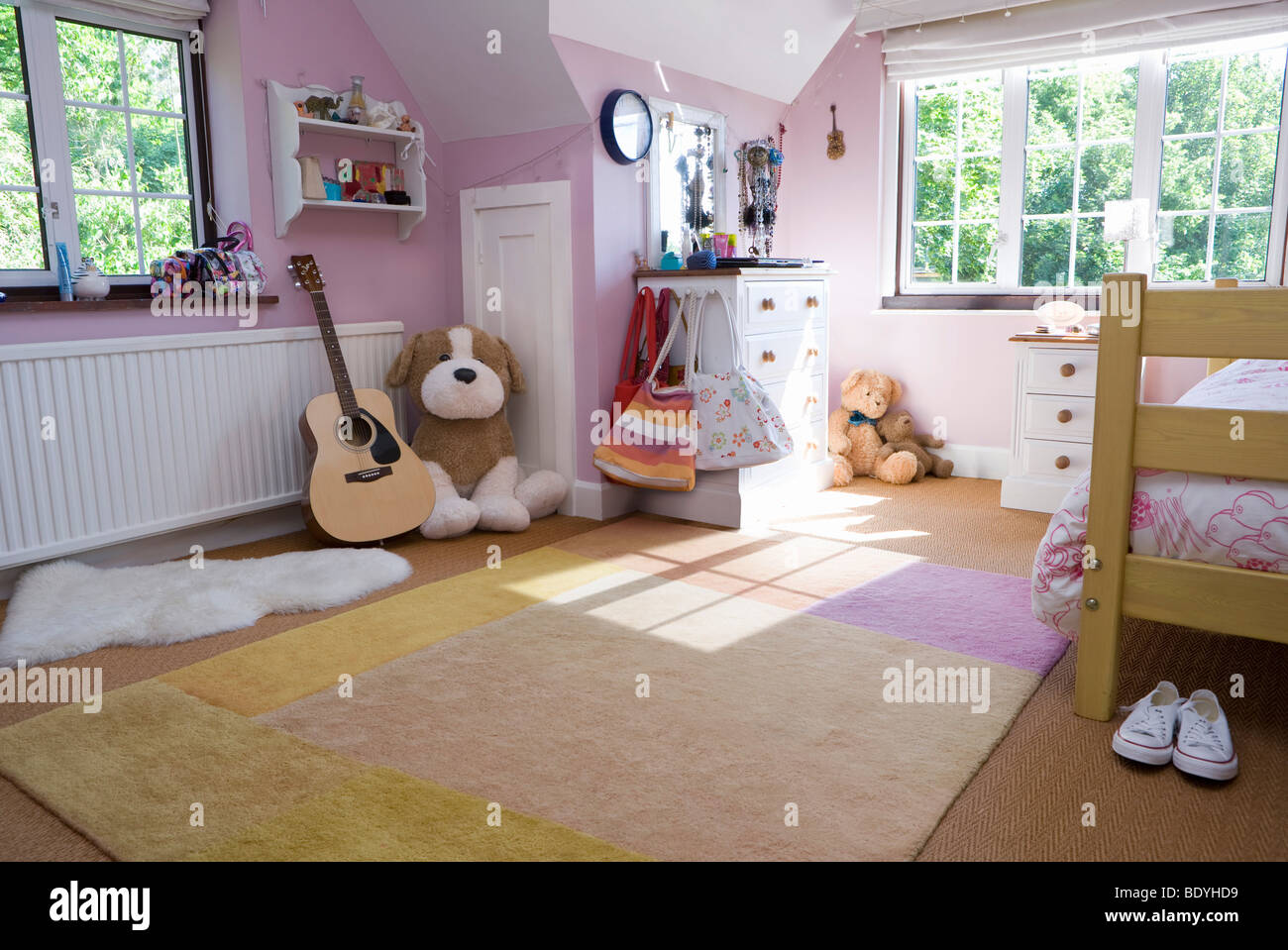 Tidy room - Stock Image