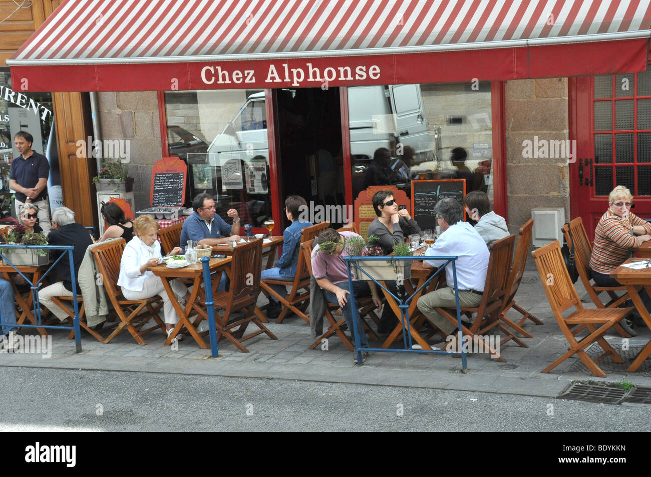 Chez Alphonse Limoges Limousin France - Stock Image