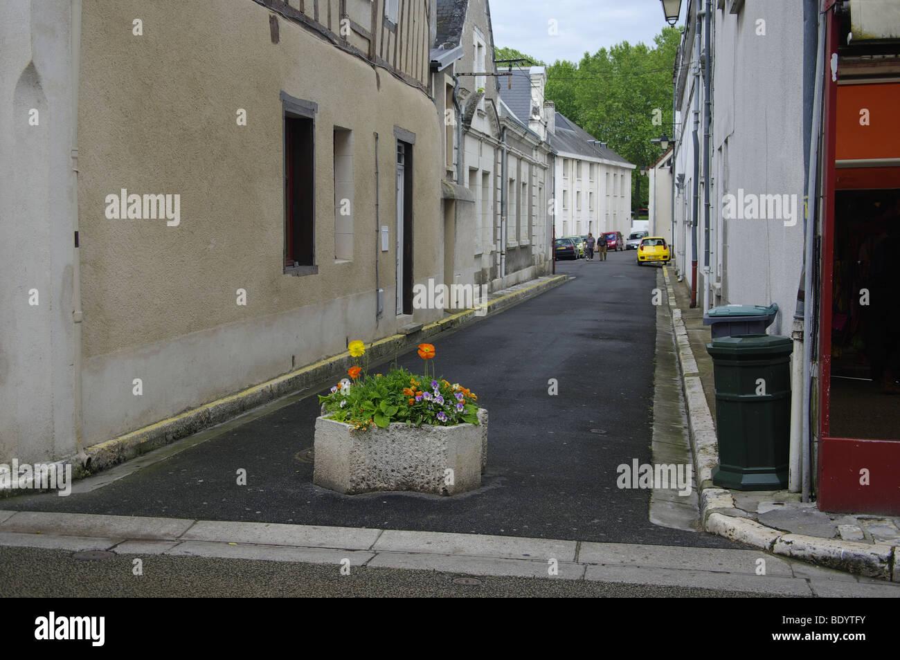 street scene france Stock Photo