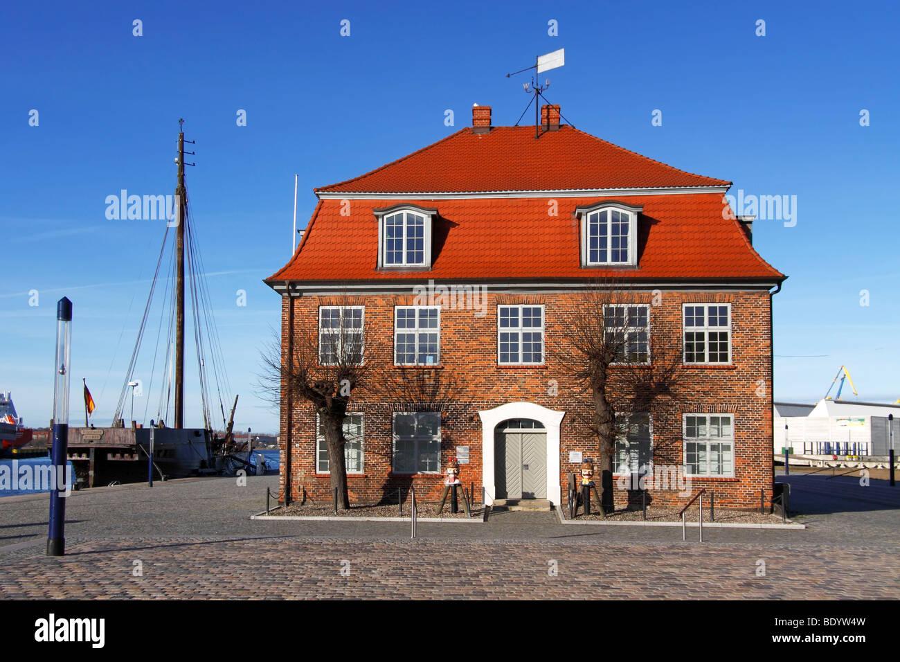 Old Baumhaus / Wismar Stock Photo