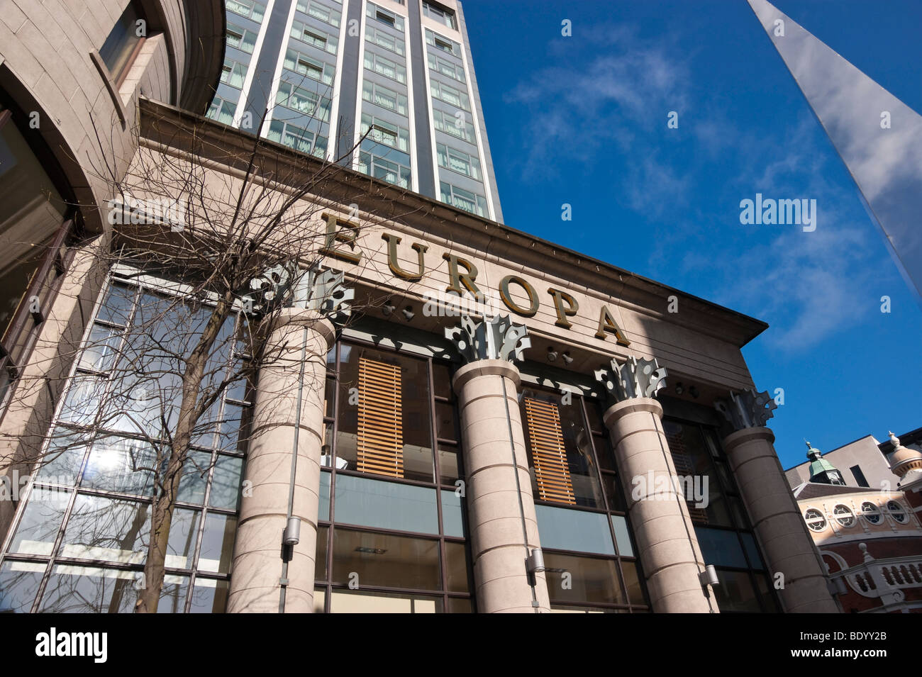 The Europa Hotel Belfast Northern Ireland - Stock Image
