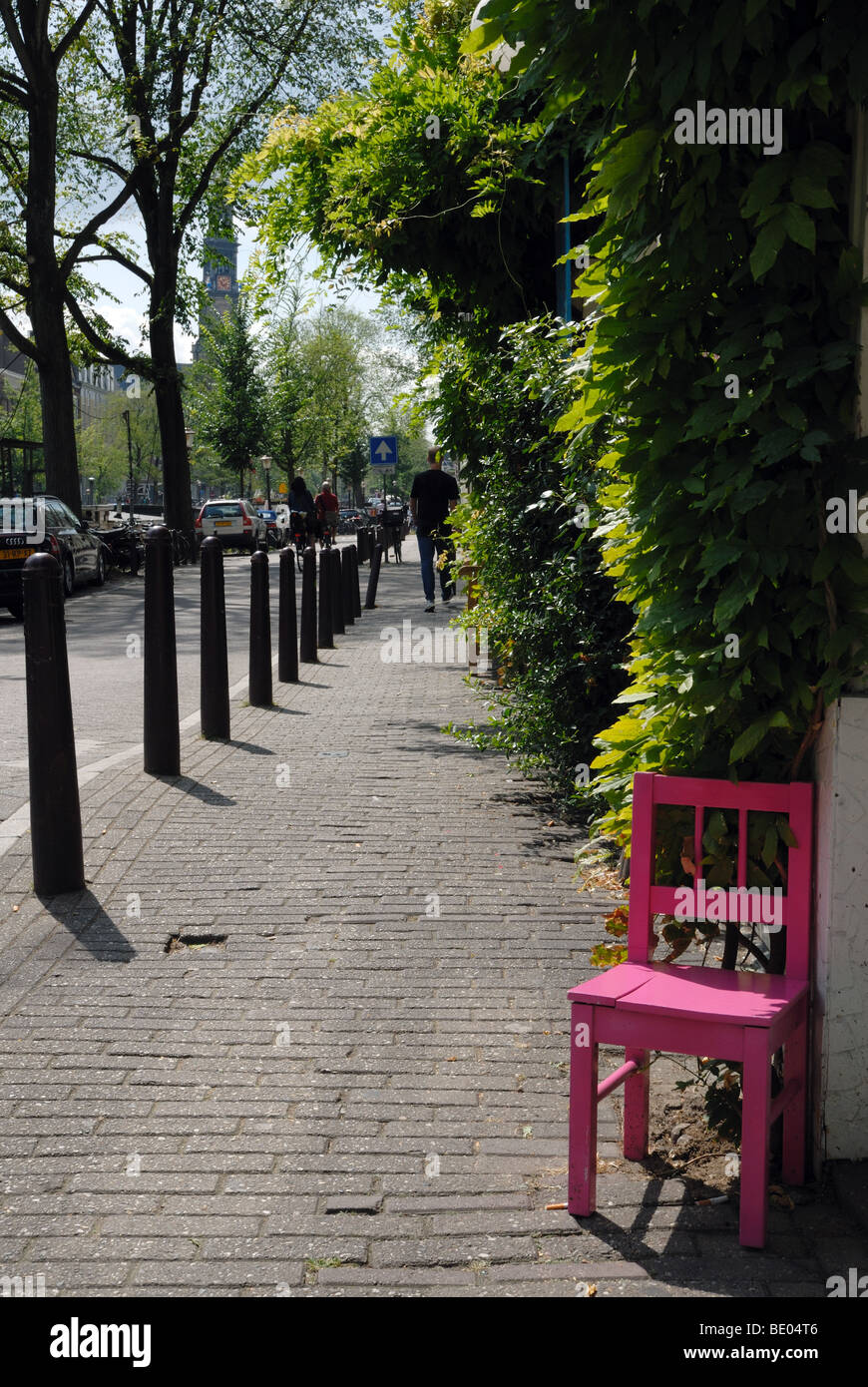 Street furniture - Stock Image