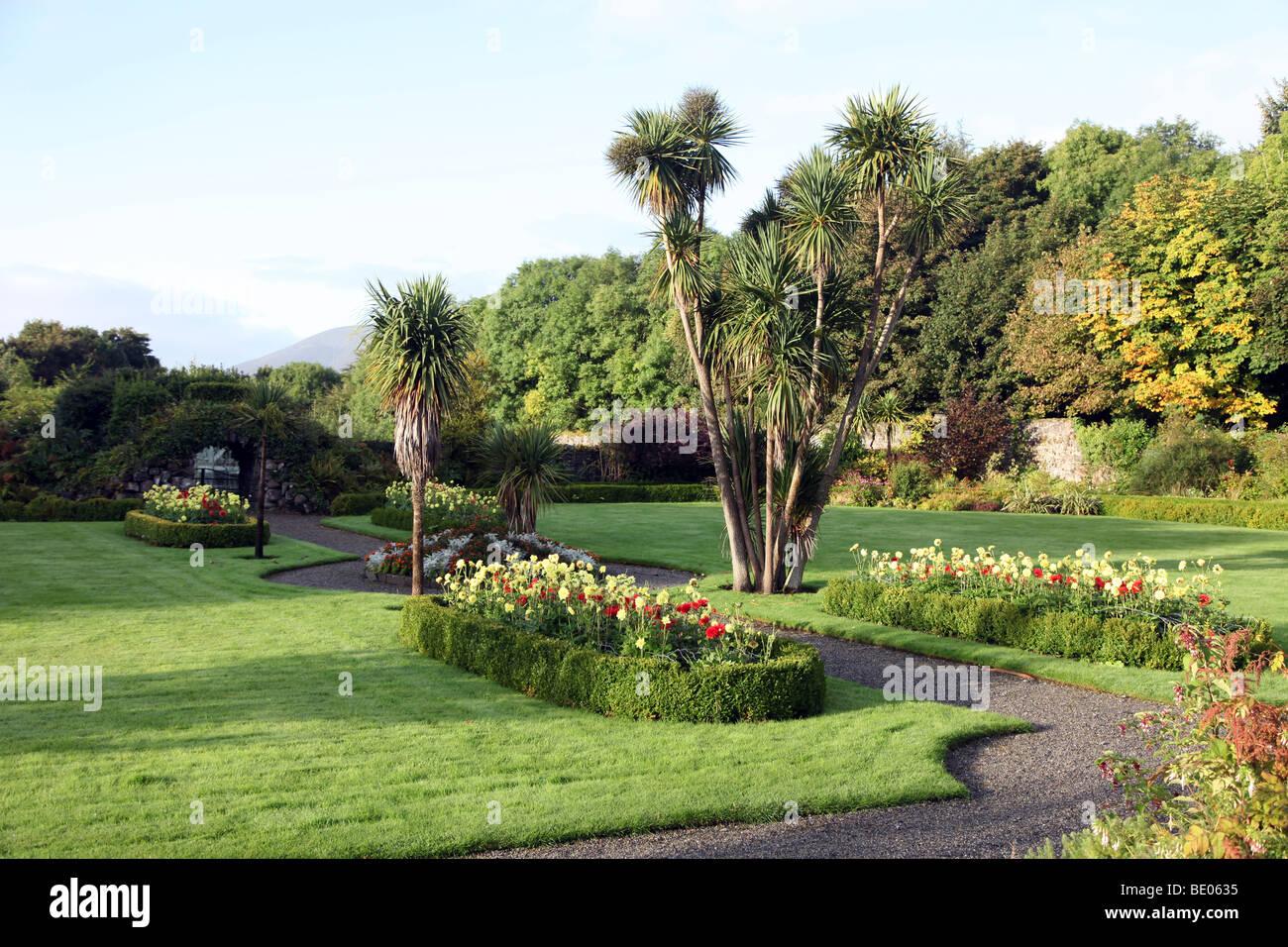Enniscoe House Gardens, Co. Mayo - Stock Image