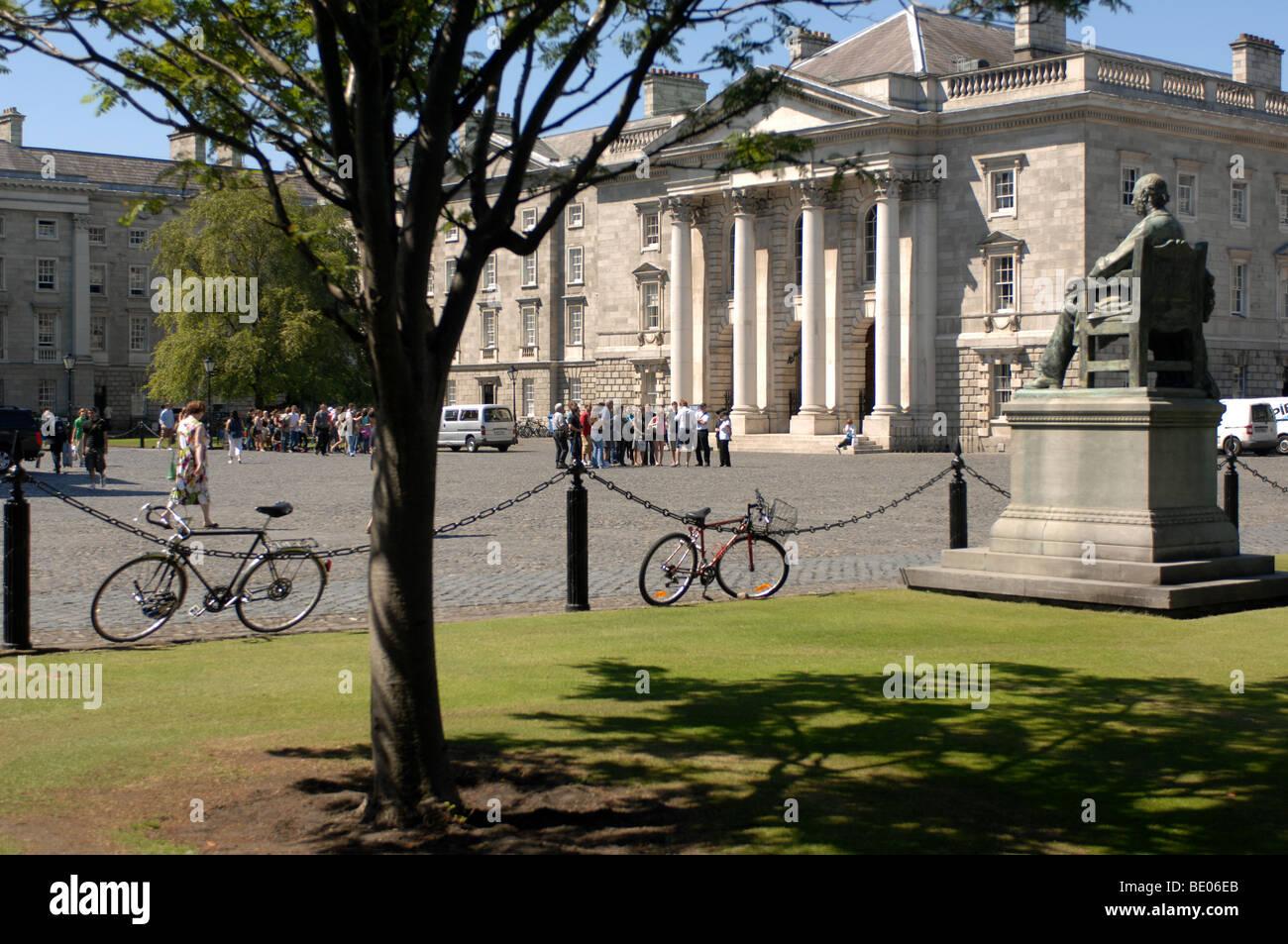 Trinity College, Dublin, Ireland. Stock Photo