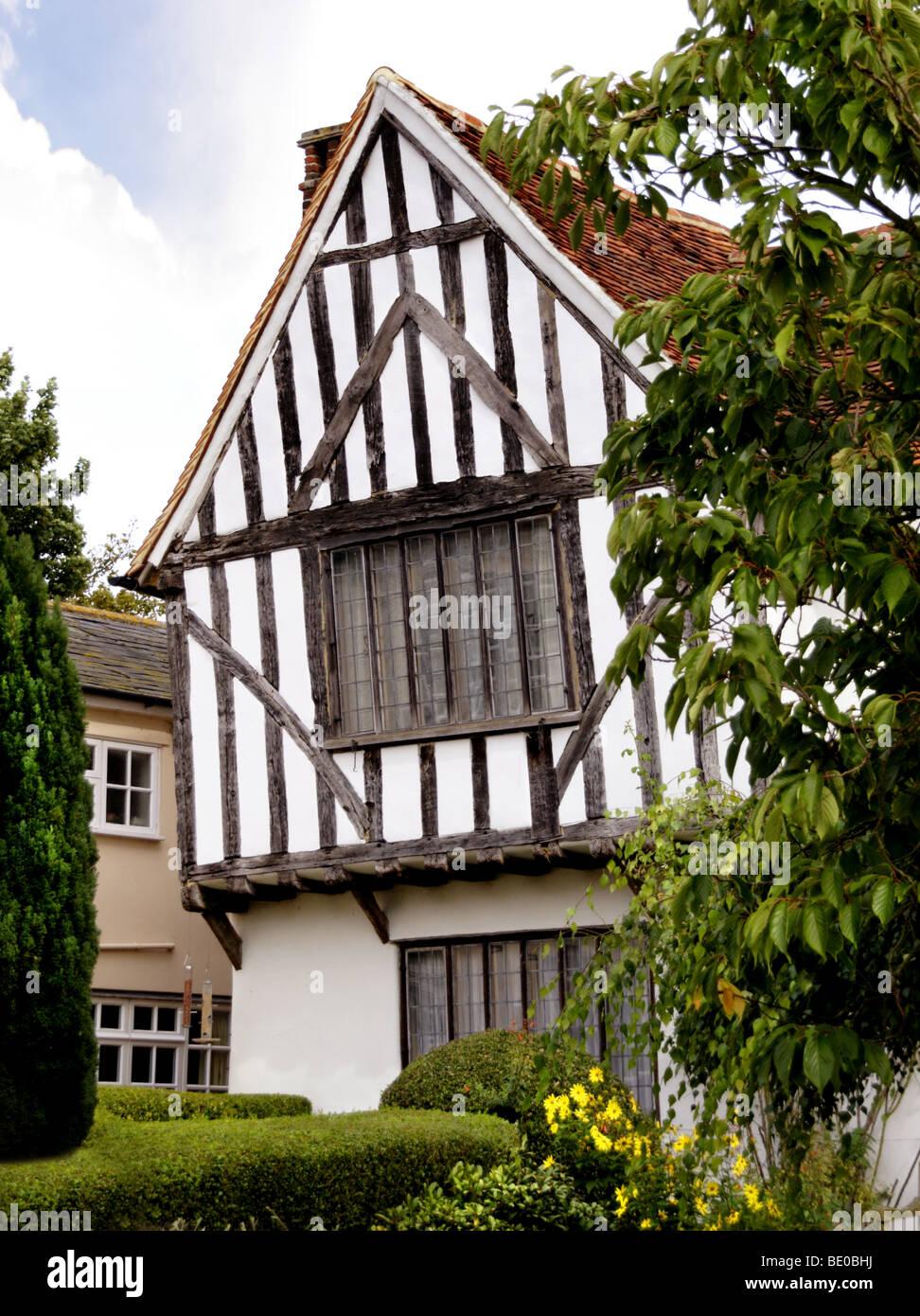 House in Lavenham, Suffolk, England - Stock Image