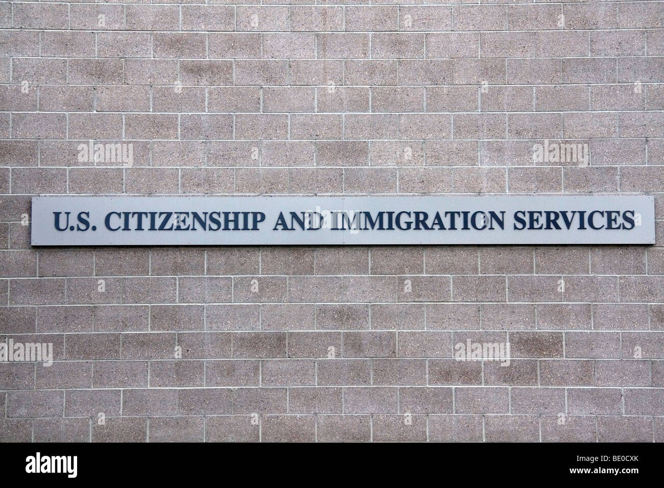 U.S. Citizenship and Immigration Services building in Idaho, USA. - Stock Image