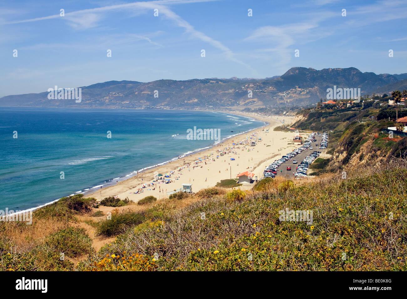 Point Dume, Malibu, California, USA Stock Photo