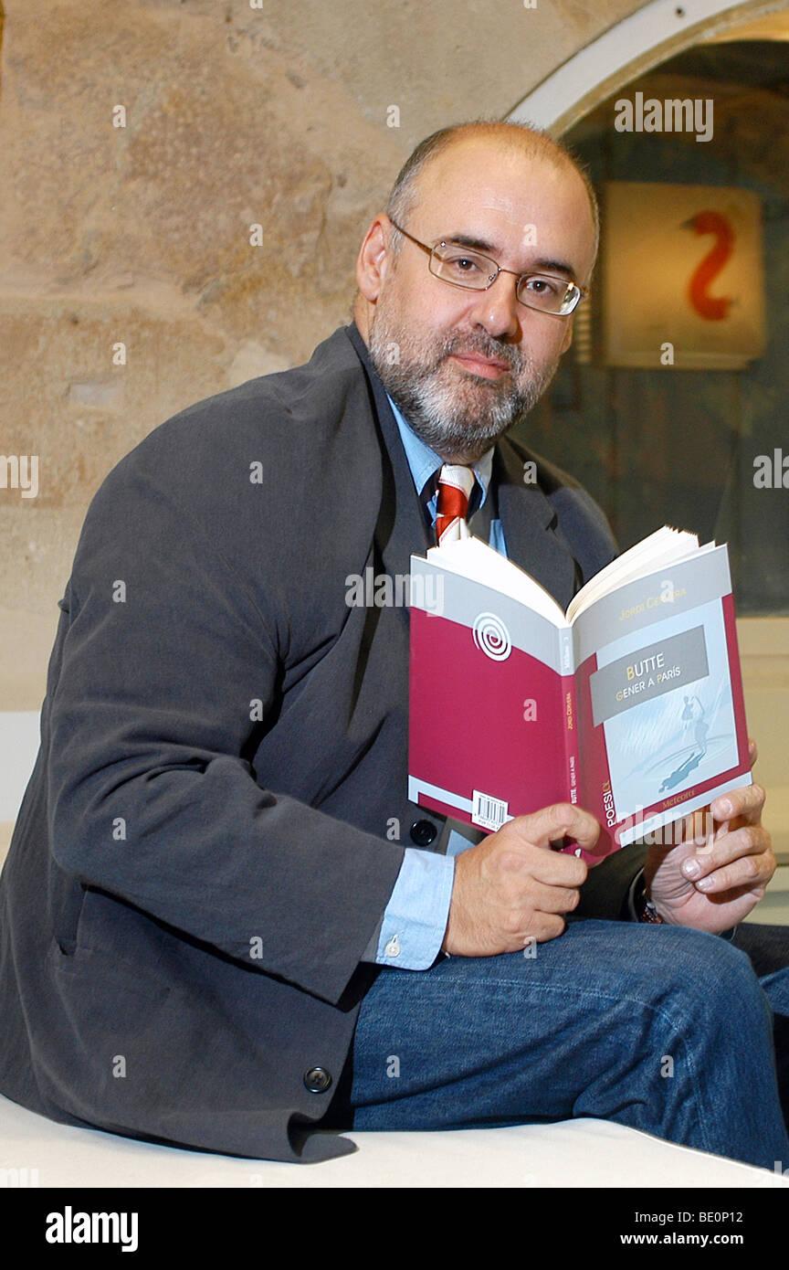 Jordi Cervera, Spanish Writer. - Stock Image