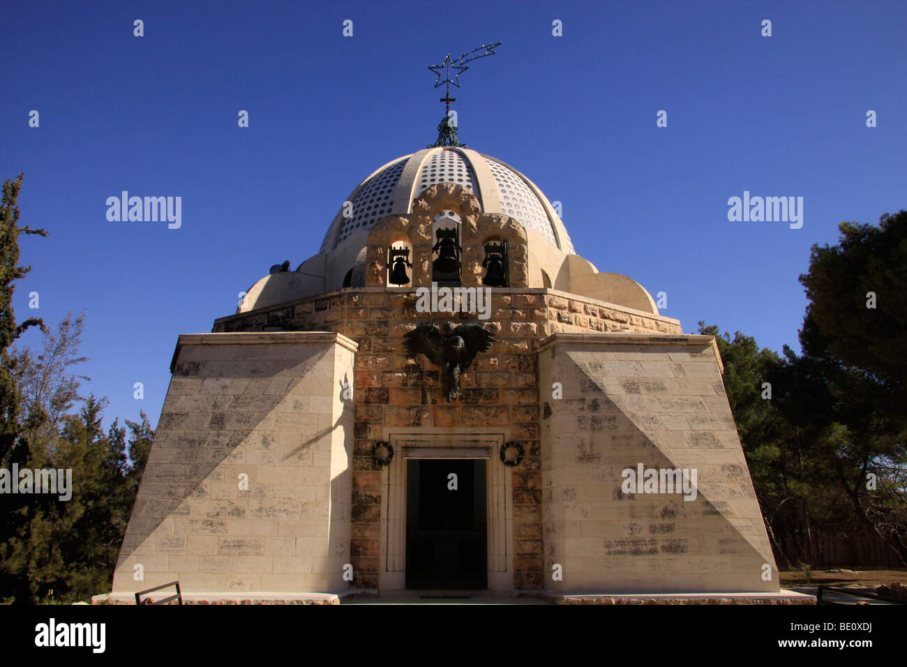 Beit Sahour, the Catholic Church at the Shepherds' Fields - Stock Image