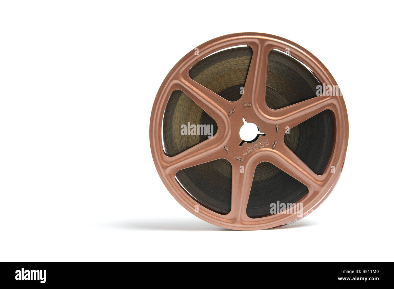 Movie Film Reel - Stock Image
