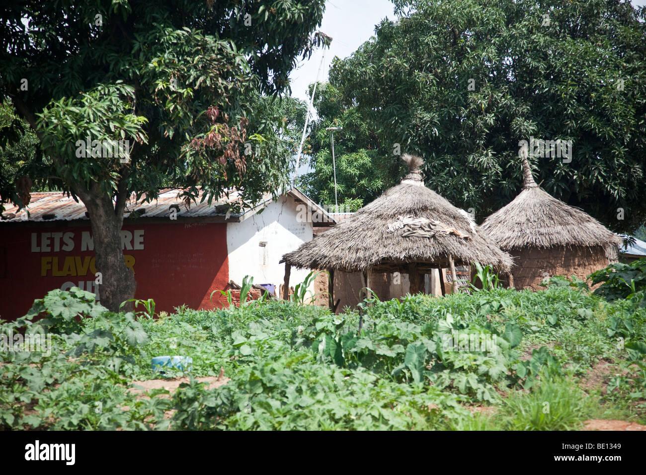 Village in Niger State, Nigeria Stock Photo