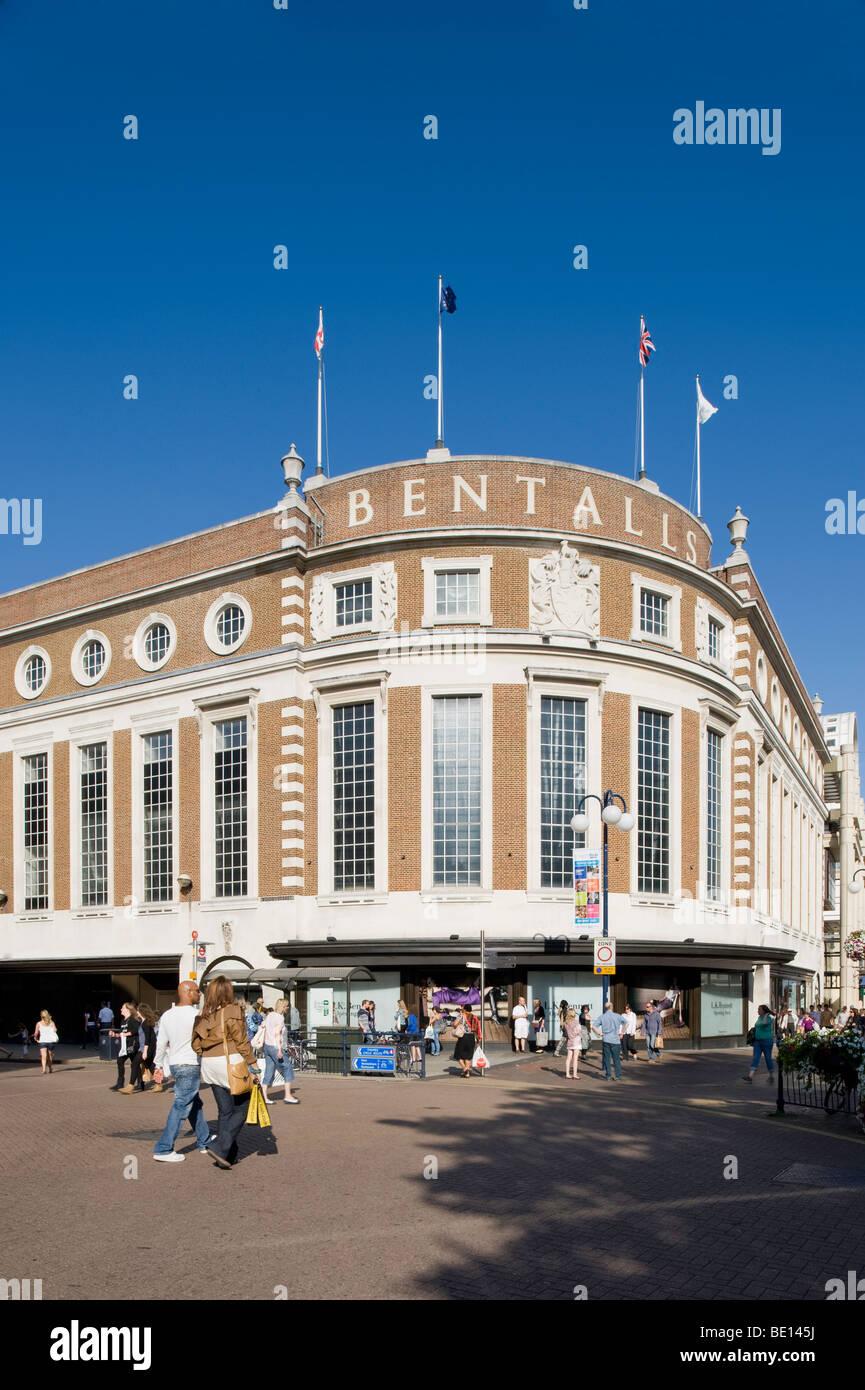 Bentalls shopping centre kingston upon stock photos for The kingston