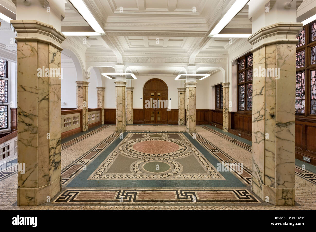 Royal Institution of Chartered Surveyors Headquarters in Westminster, London. - Stock Image