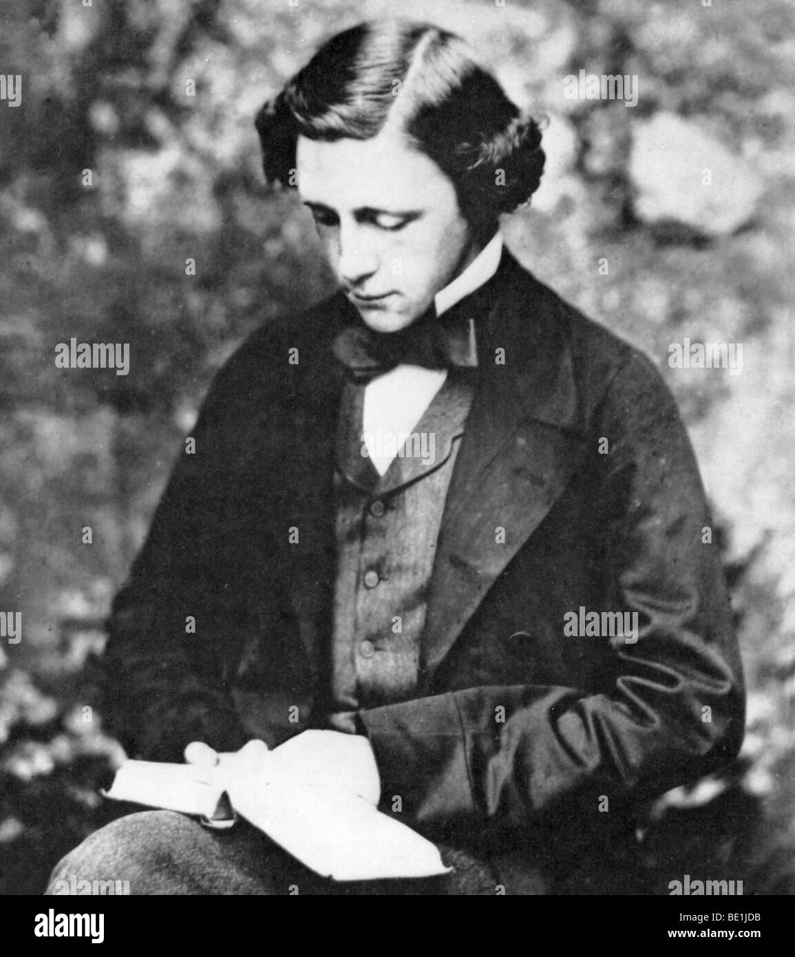 LEWIS CARROLL  English children's writer and mathematician (1832-98) - Stock Image