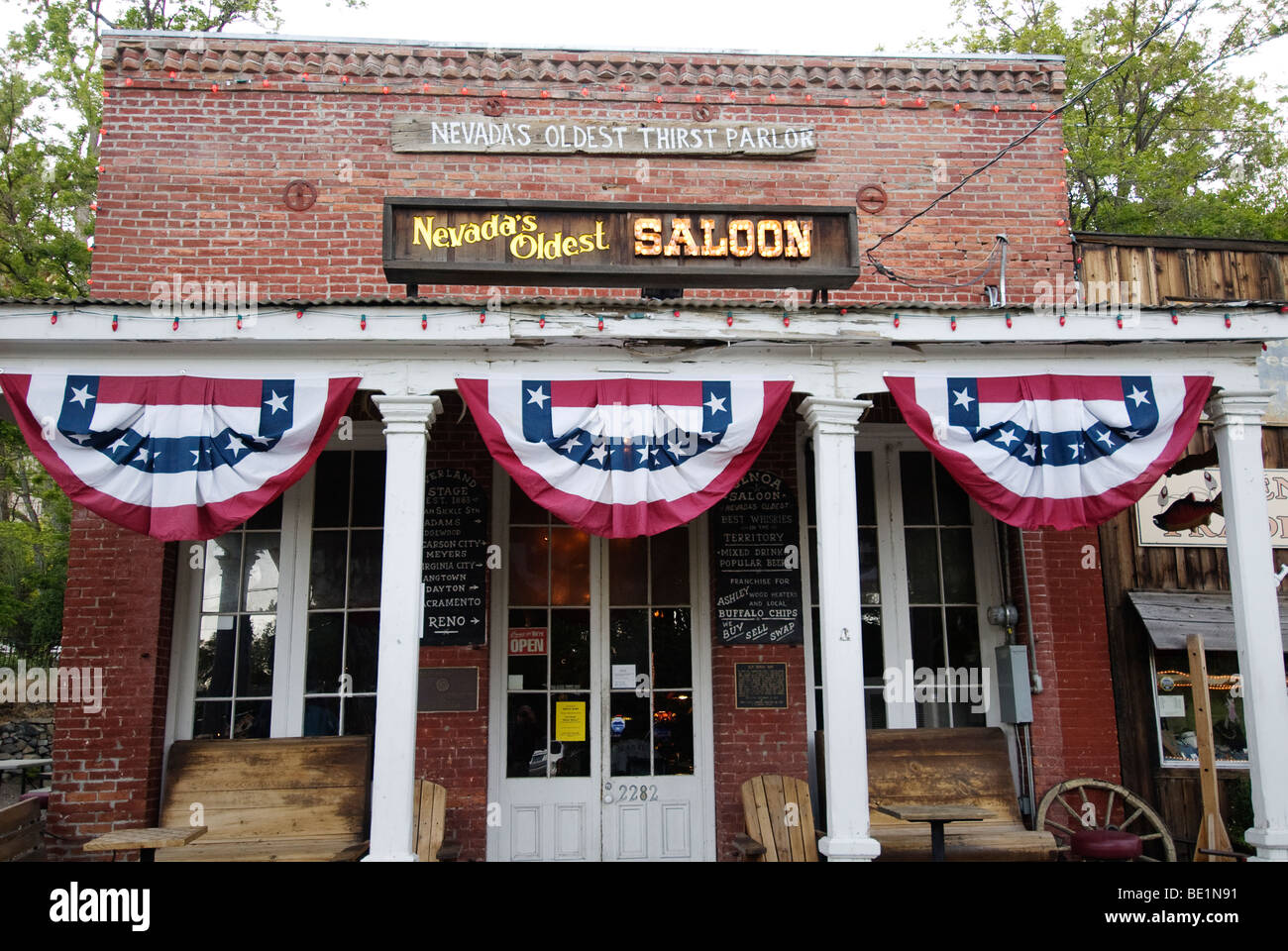 Genoa Nevada High Resolution Stock Photography And Images Alamy