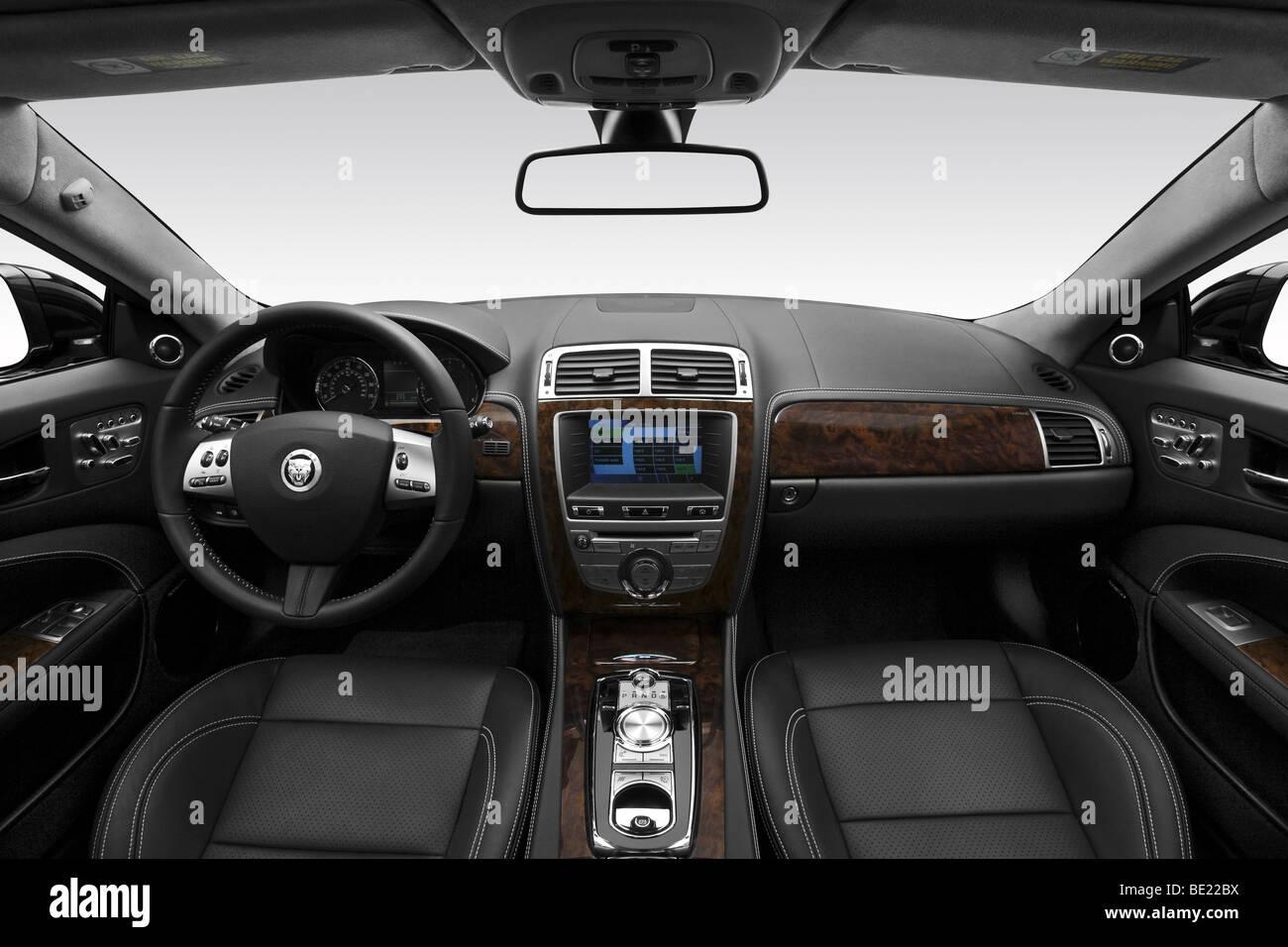 Jaguar XK convertible - Stock Image