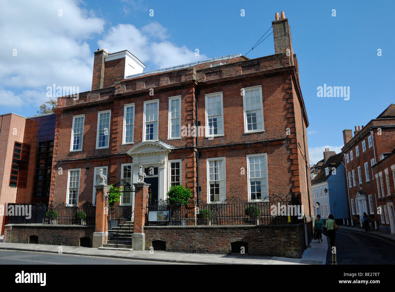 Pallant House Grade 1 Listed Queen Anne Townhouse In Chichester Sussex England UK