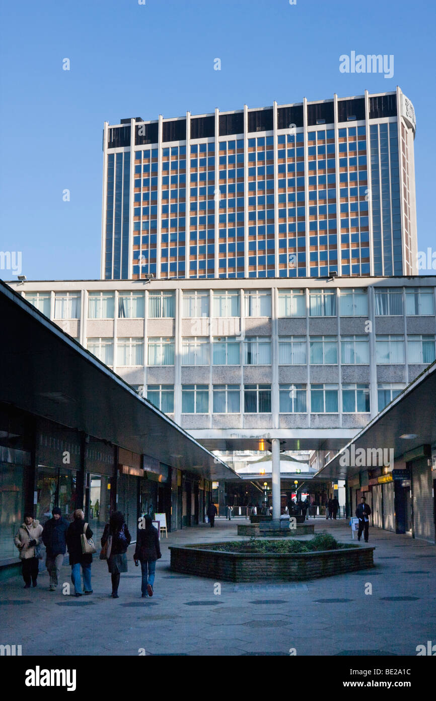 St George's Walk Shopping Centre in Croydon Surrey during January 2009 - Stock Image