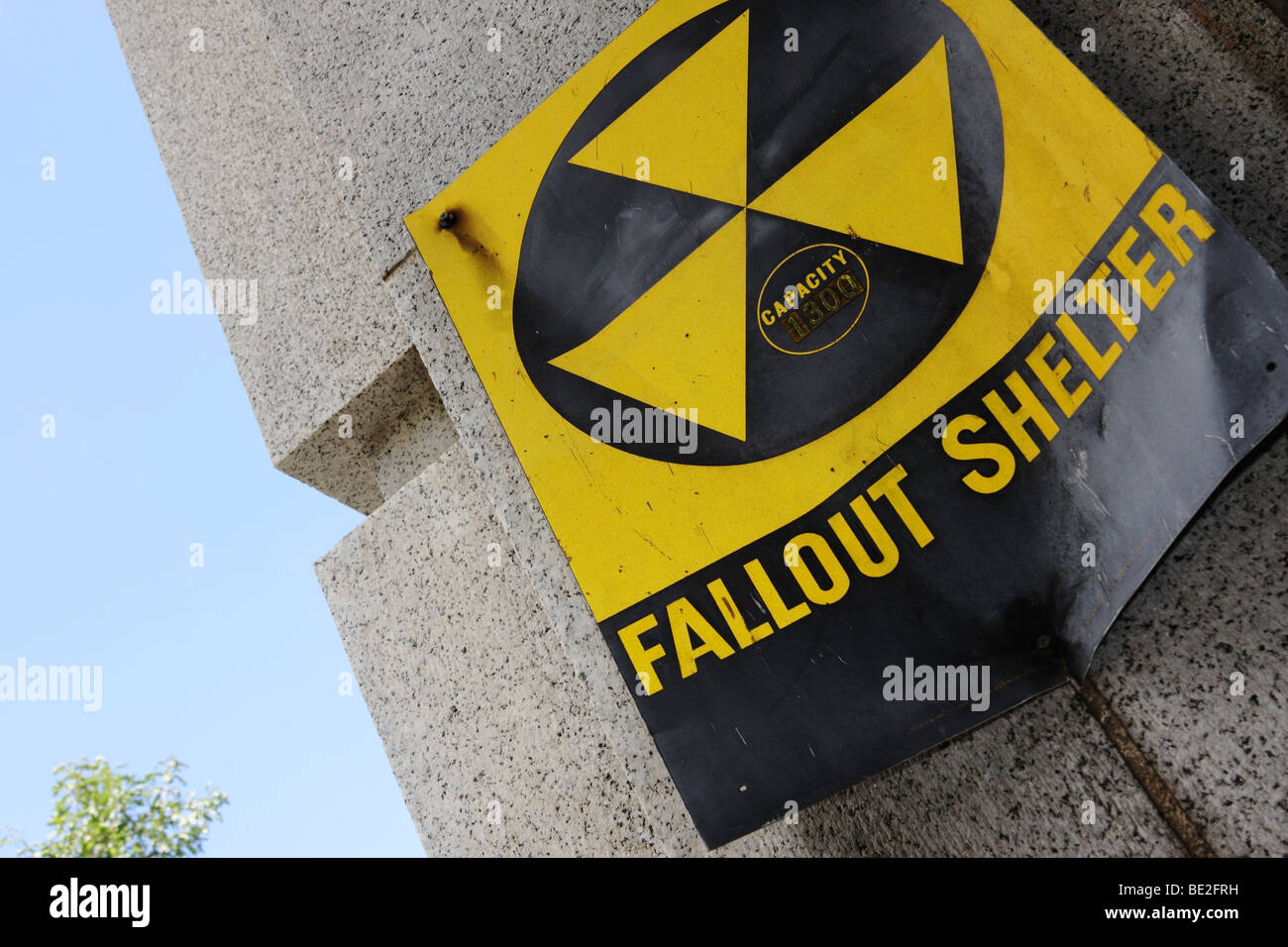 Fallout Shelter, USA Stock Photo