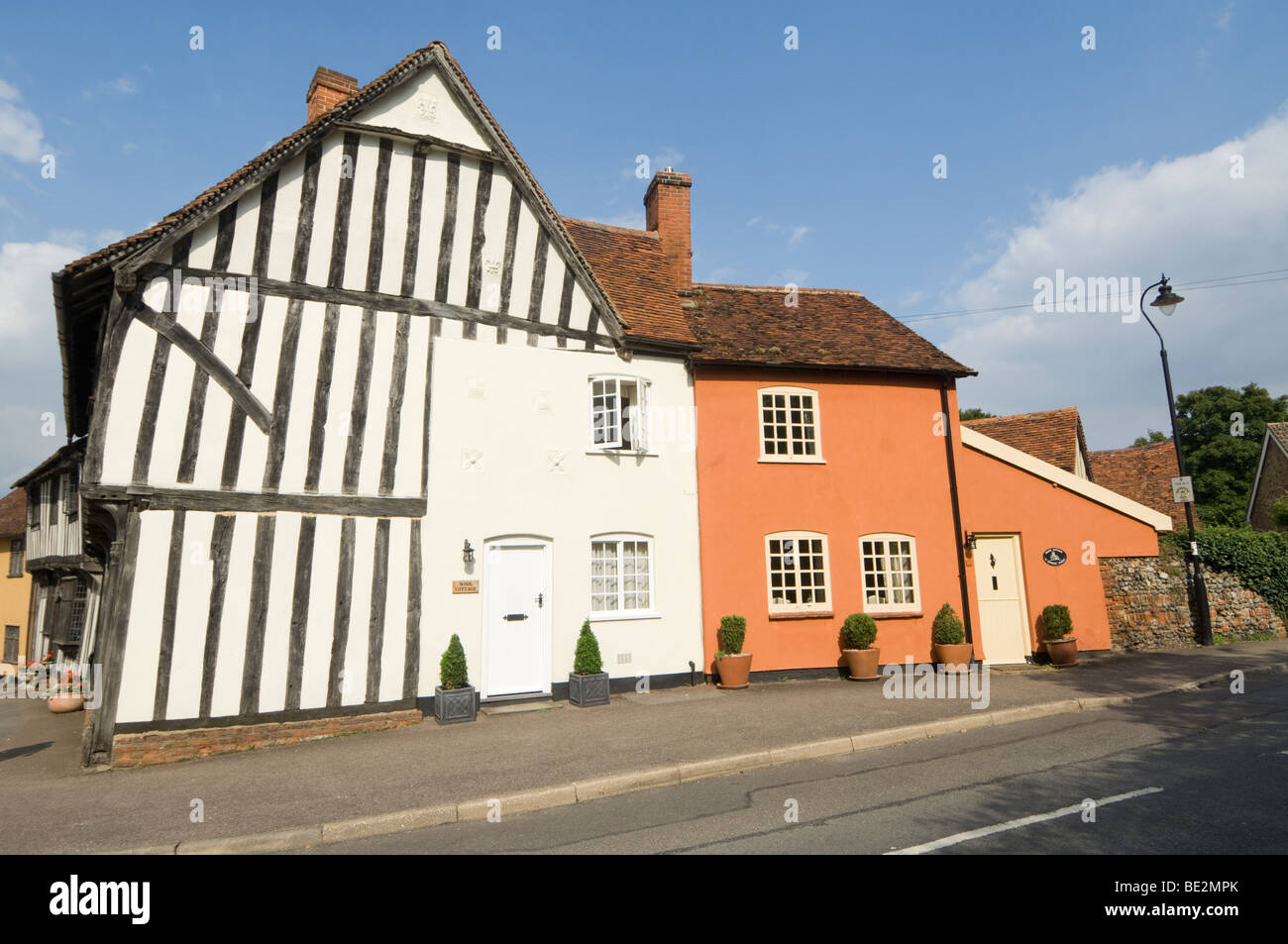 Lavenham Suffolk UK - Stock Image