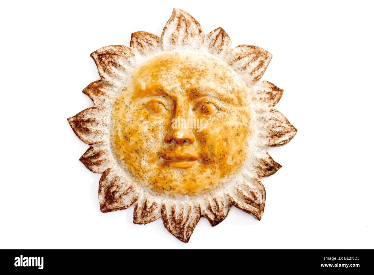 Sun, wall ornament, ceramics Stock Photo: 25876289 - Alamy