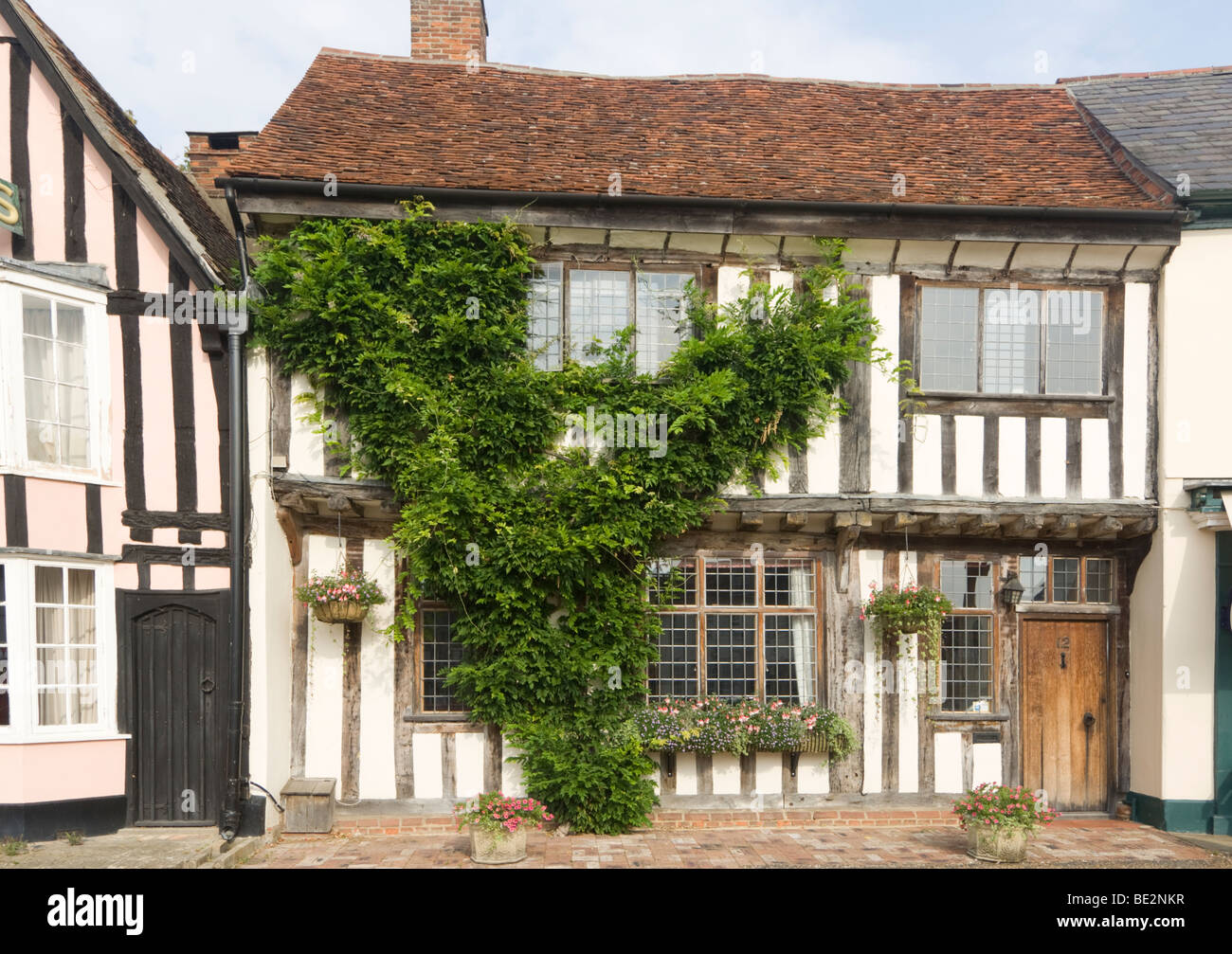 Old Cottage Lavenham Suffolk UK - Stock Image