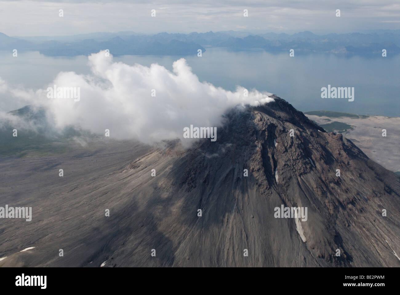 Augustine Volcano, Cook Inlet, Alaska - Stock Image