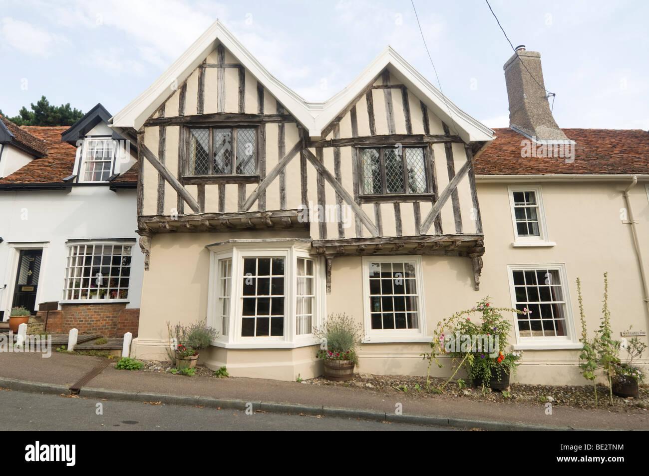 Lavenham Suffolk UK - Stock Image