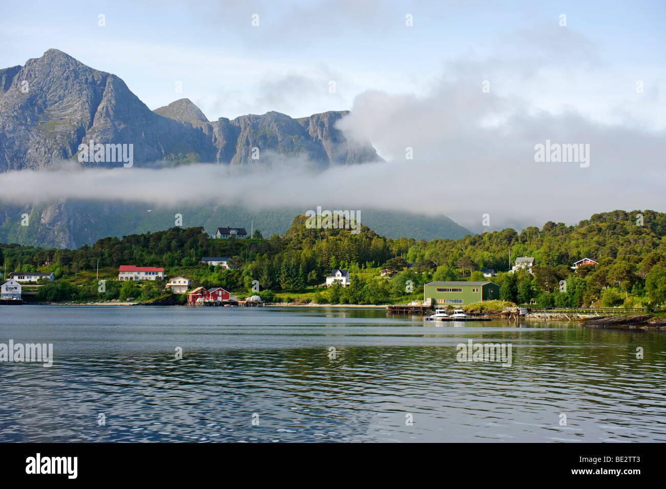 Holandfjord, Norway, Scandinavia, Europe - Stock Image