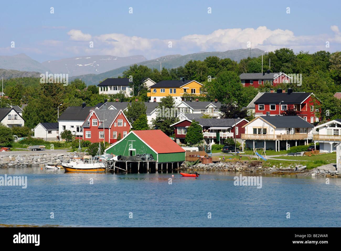 Bronnoysund, Norway, Scandinavia, Europe - Stock Image