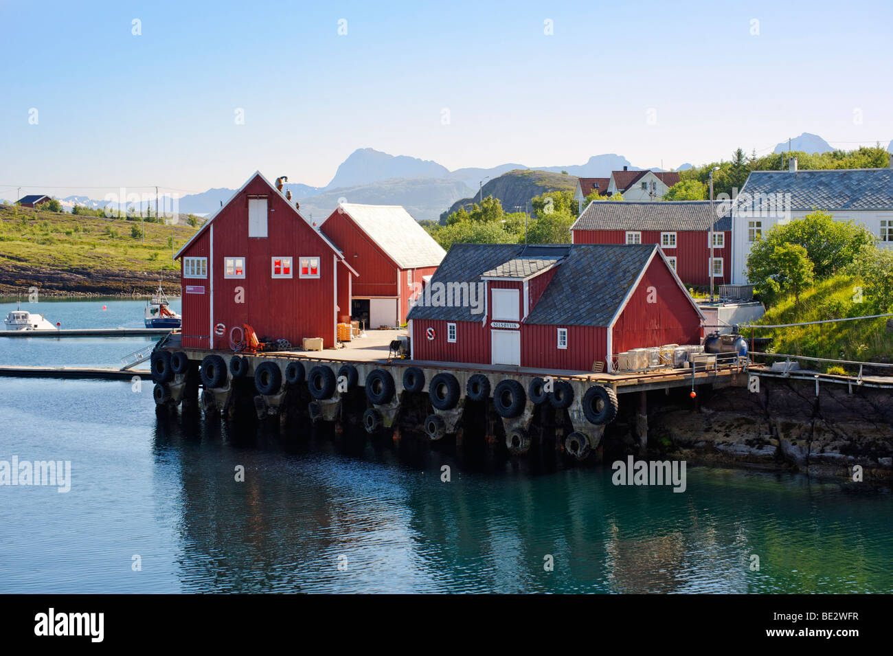 Selsoyvik, Norway, Scandinavia, Europe - Stock Image