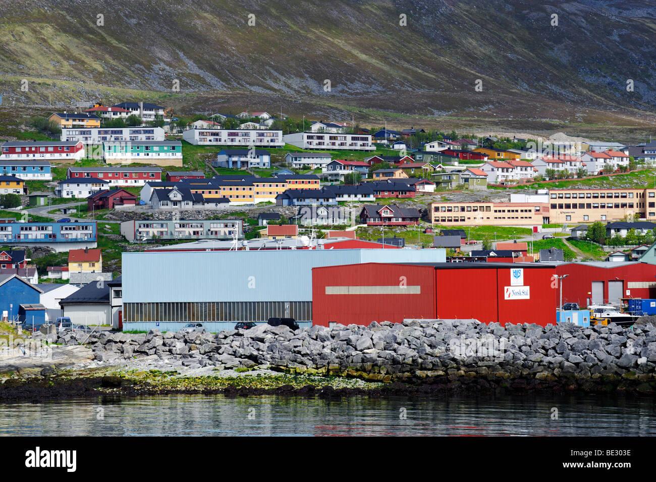 Hammerfest, Norway, Scandinavia, Europe Stock Photo