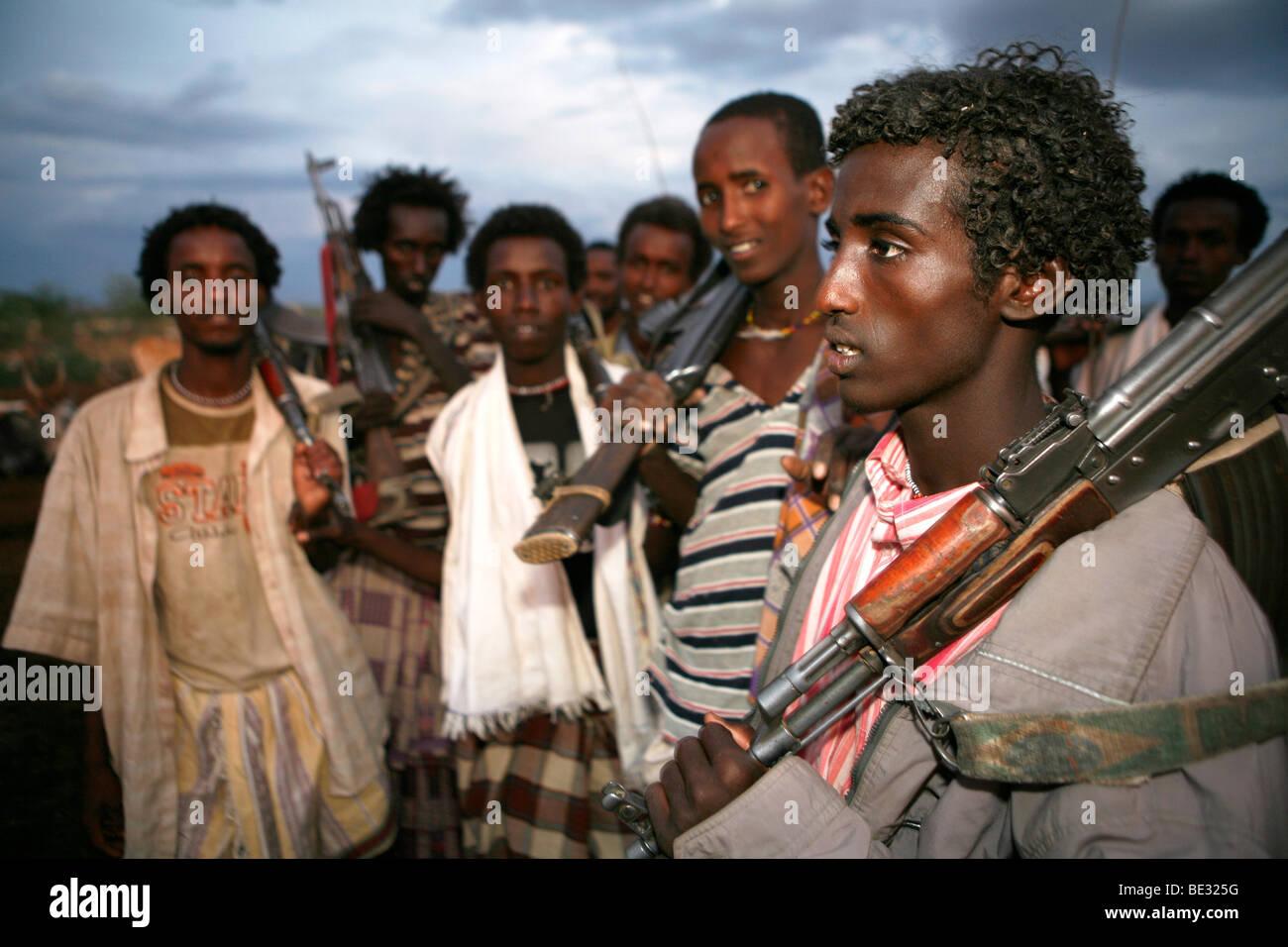 How do people live in the Ethiopian salt desert 97