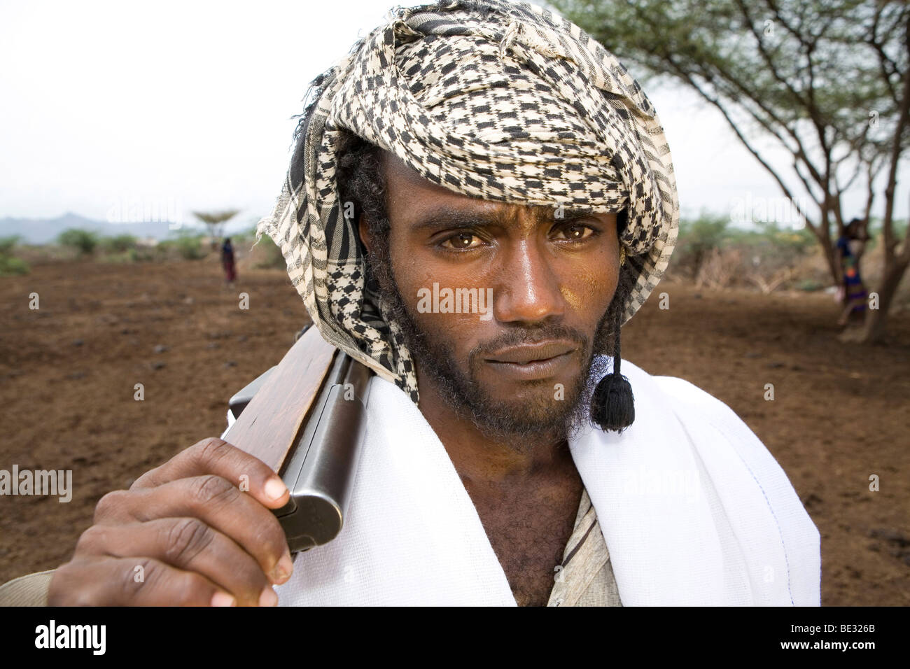 How do people live in the Ethiopian salt desert 67