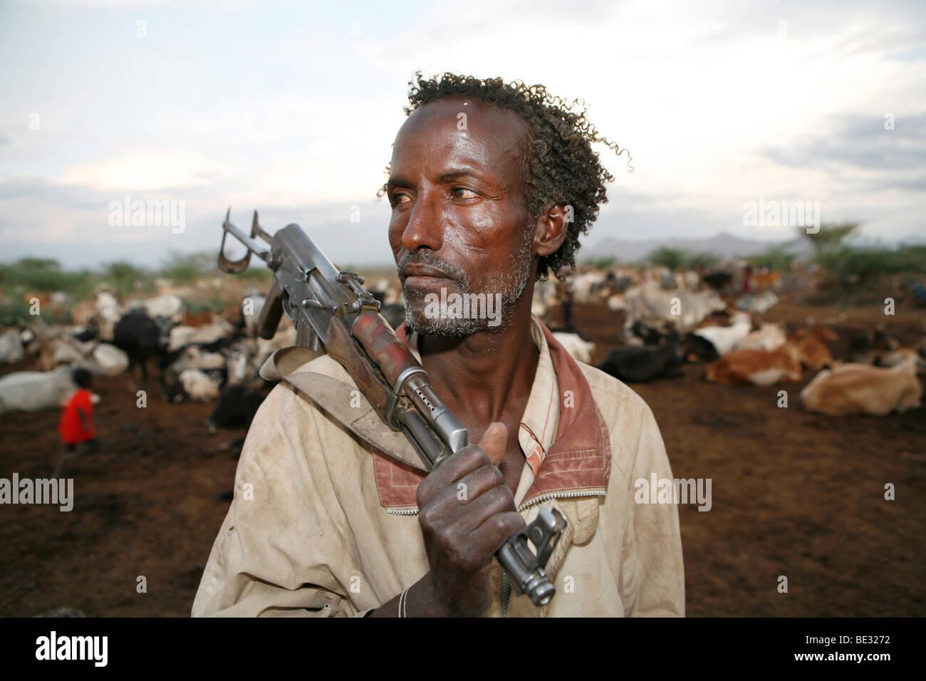How do people live in the Ethiopian salt desert 41