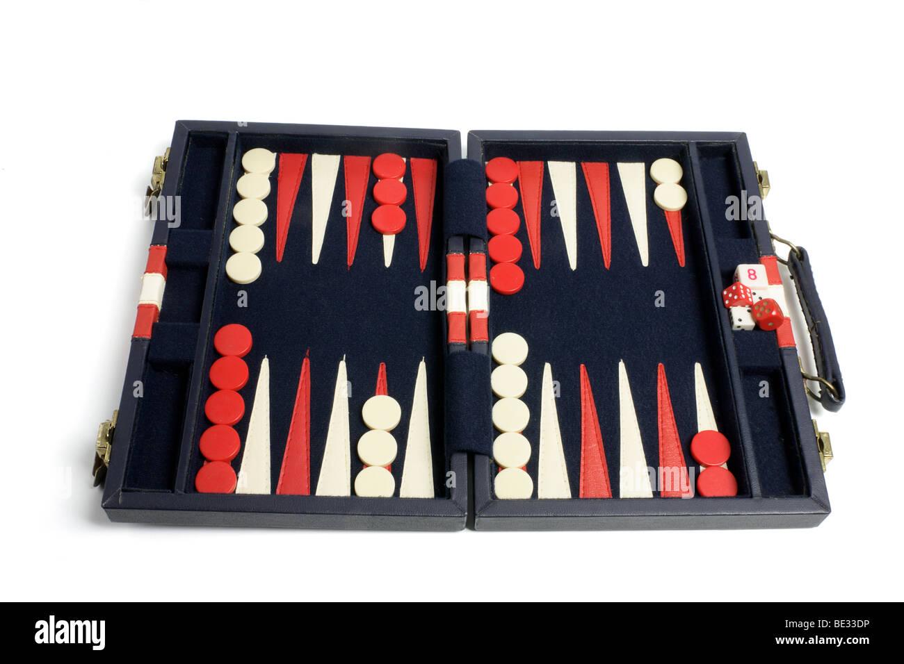 Backgammon Set - Stock Image