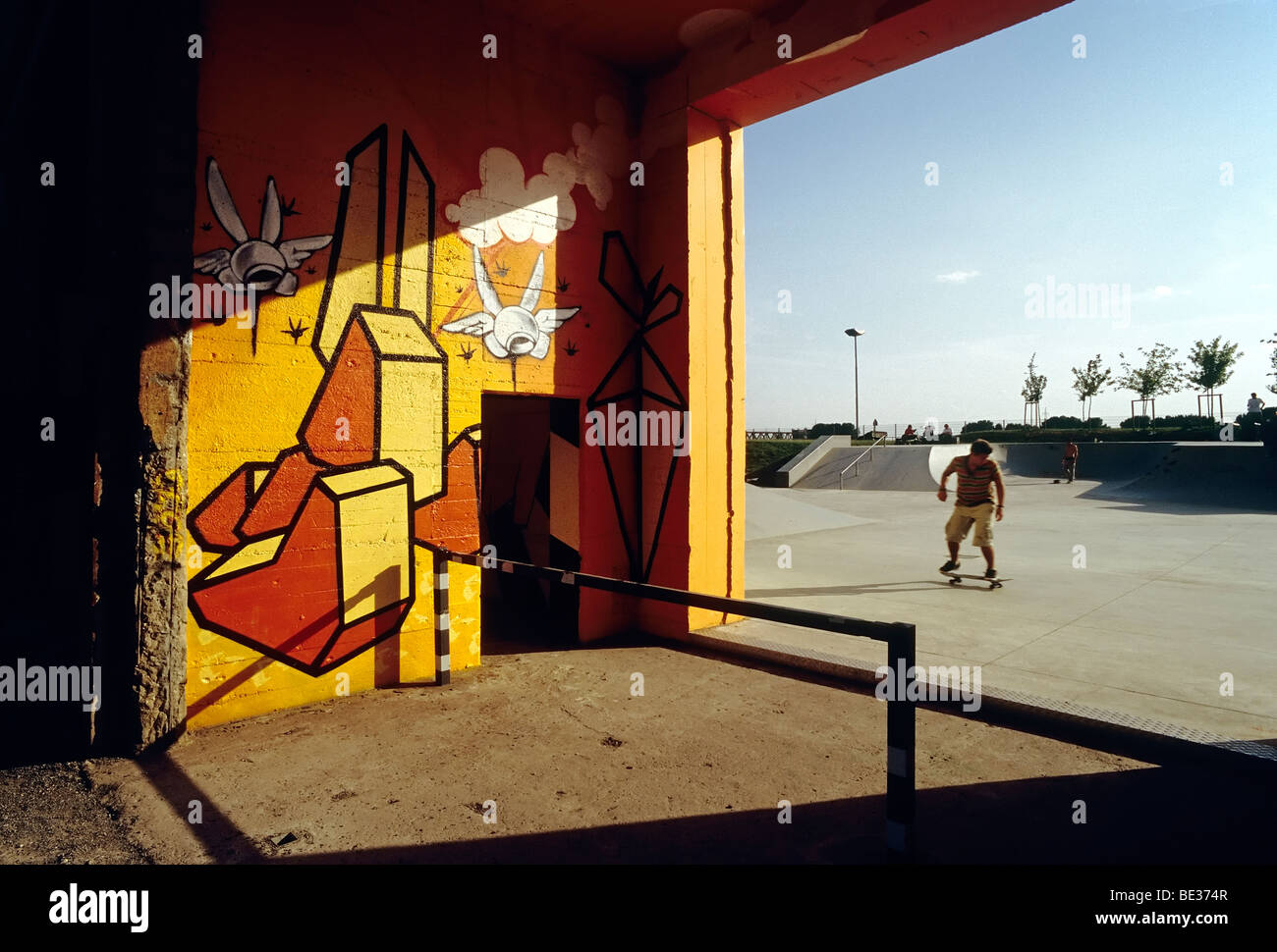 Graffiti Duisburg rheinpark duisburg stock photos rheinpark duisburg stock images