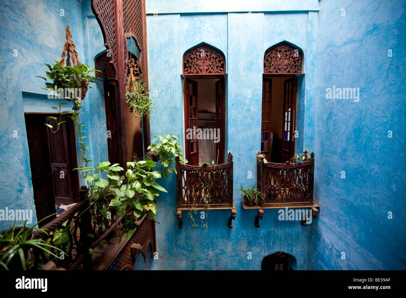 The Emerson Spice Hotel, Stonetown, Stone Town, Zanzibar, Tanzania, Africa - Stock Image