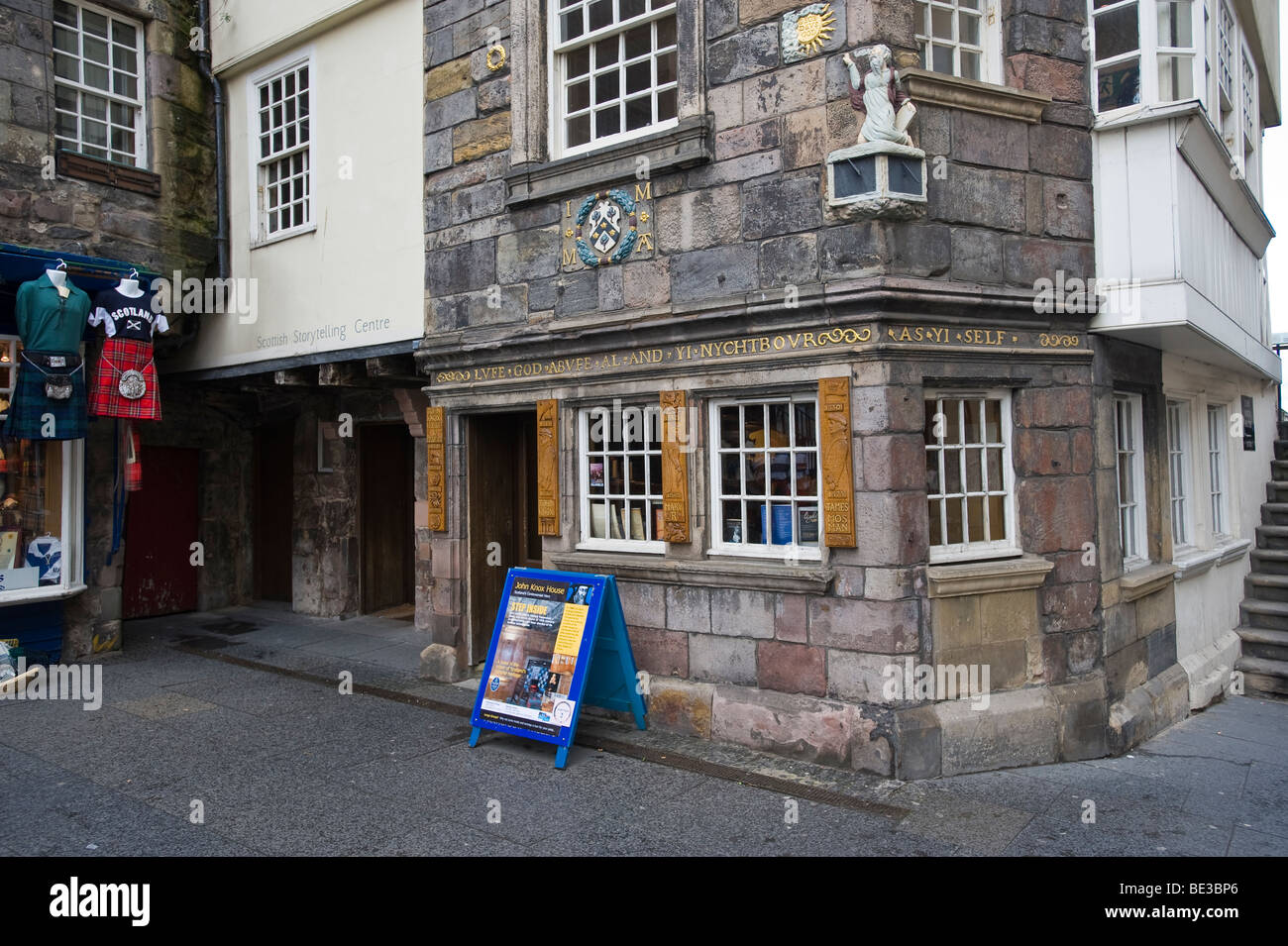 John Knox House, Edinburgh, Scotland, United Kingdom, Europe Stock Photo