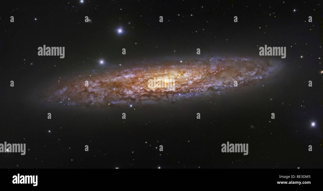The Sculptor Galaxy - Stock Image