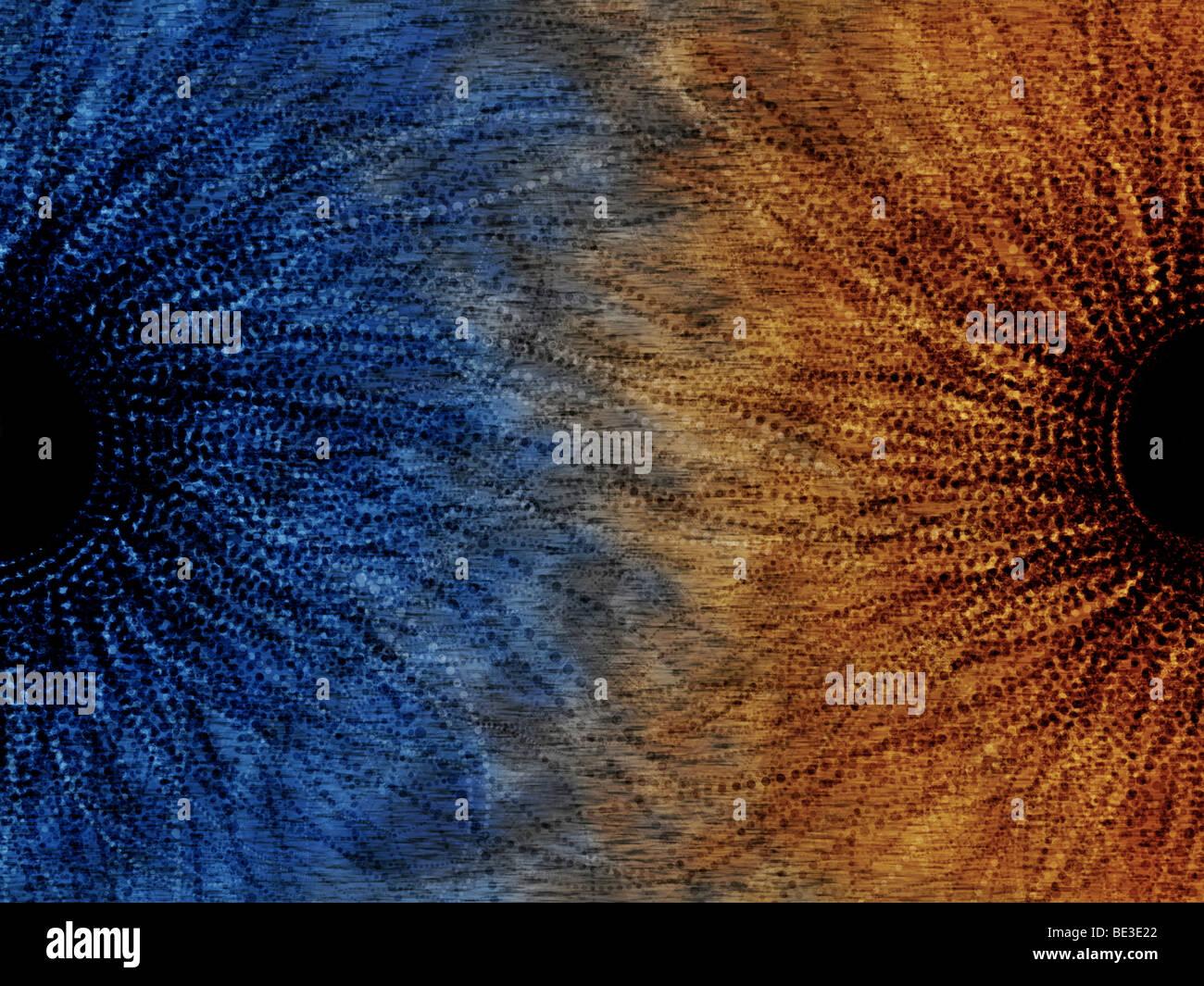 Duality motif - Stock Image