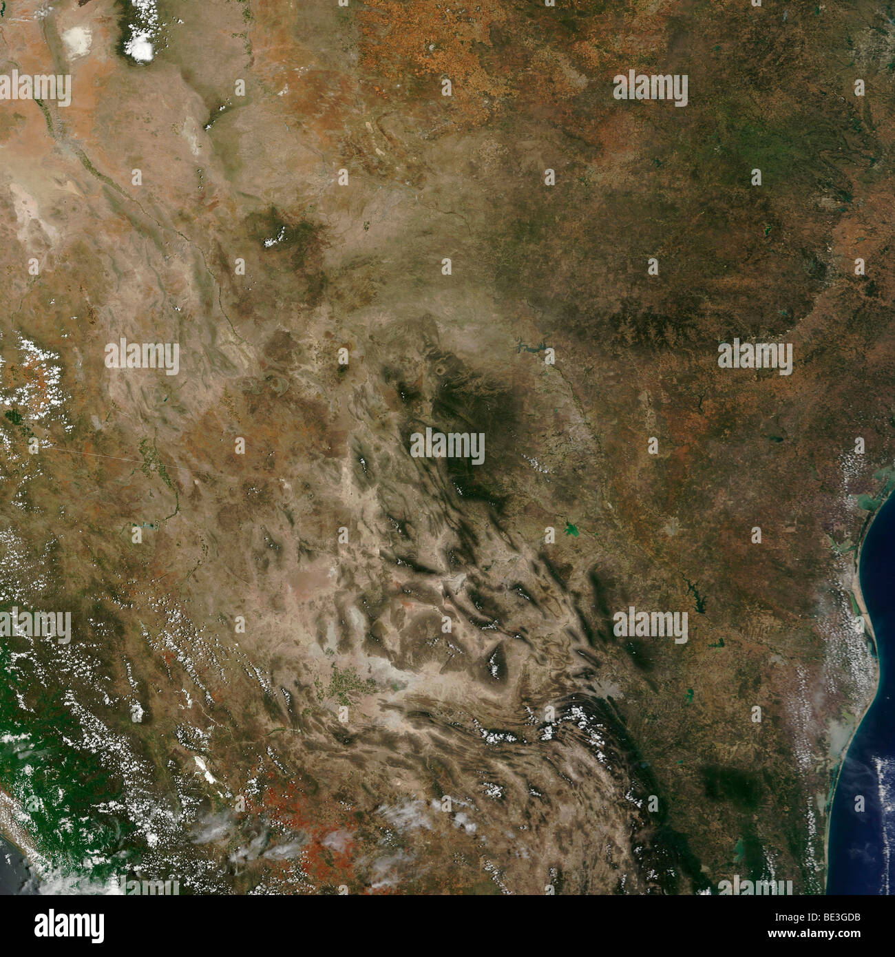 Mexico and the southwestern United States. - Stock Image