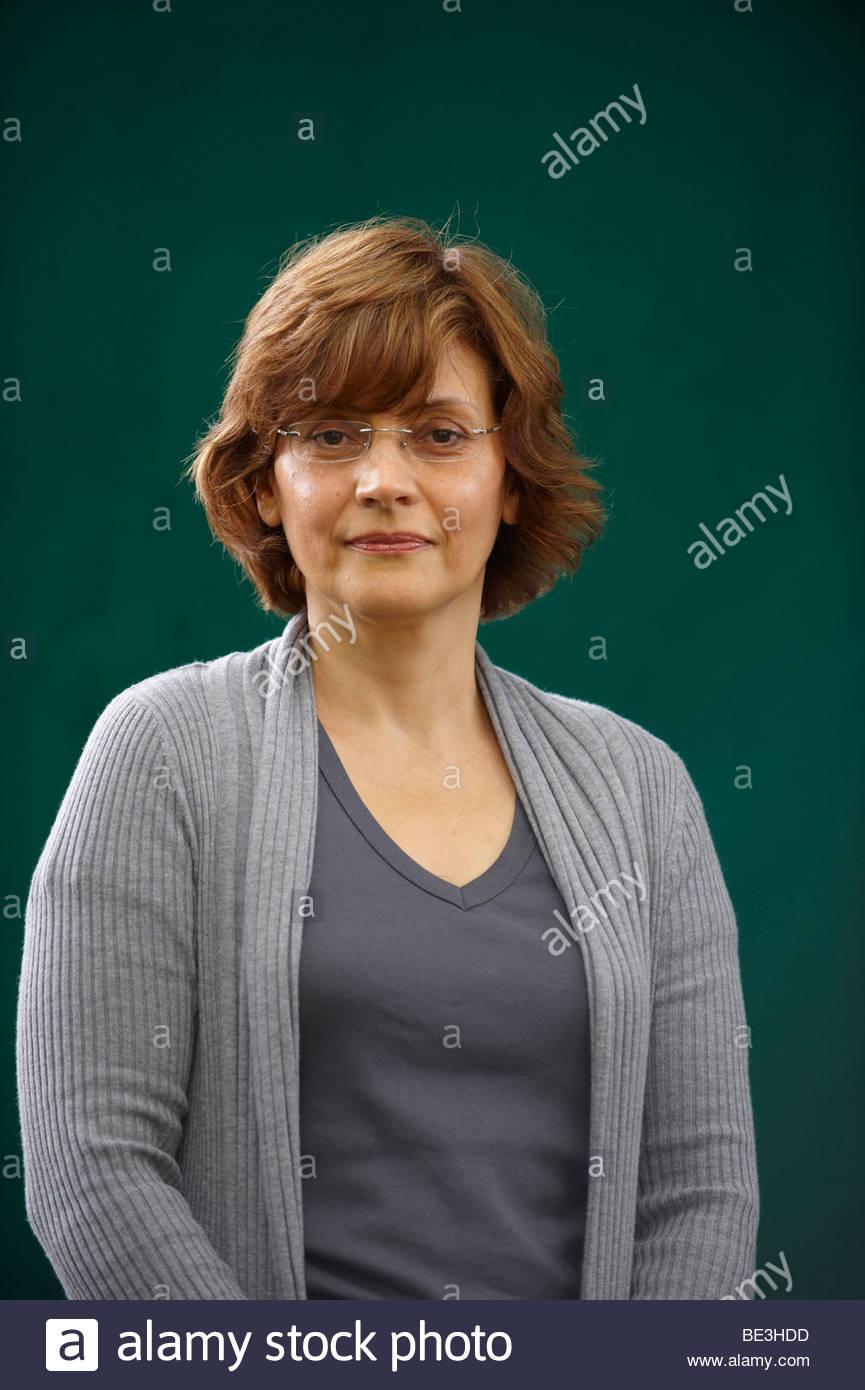 Nada Awar Jarrar, Lebanese novelist author and writer of the book Dreams of Water at The Edinburgh International Stock Photo