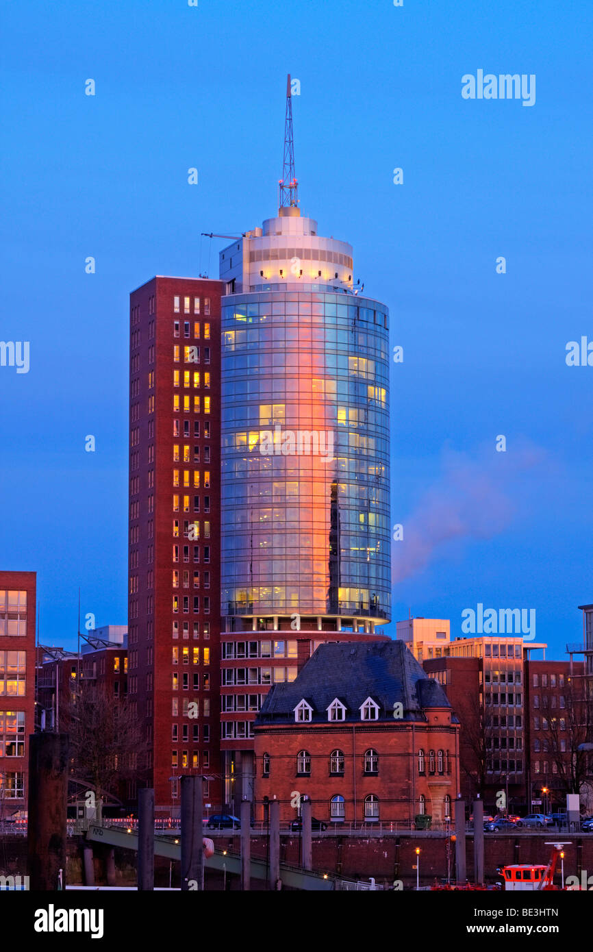 Hanseatic Trade Center / Hamburg - Stock Image