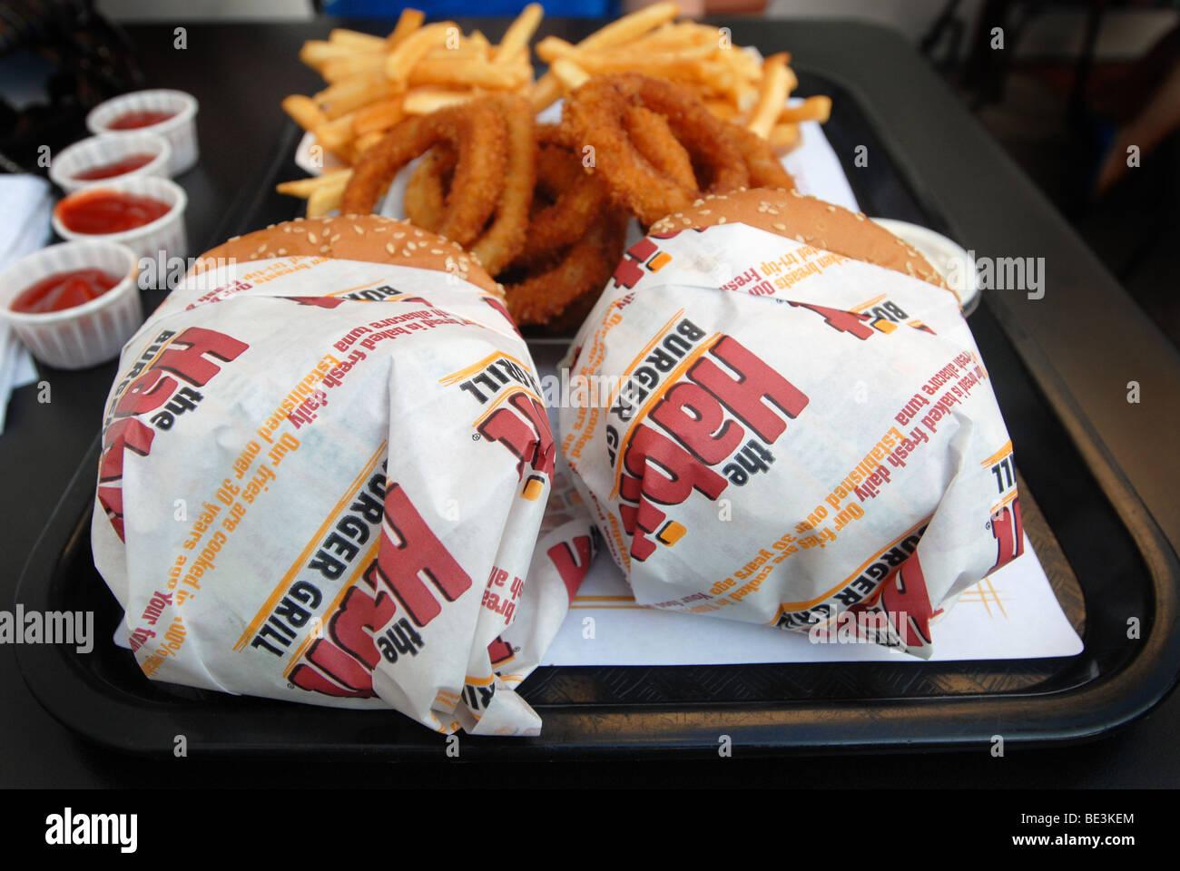 Habit Burger - Stock Image
