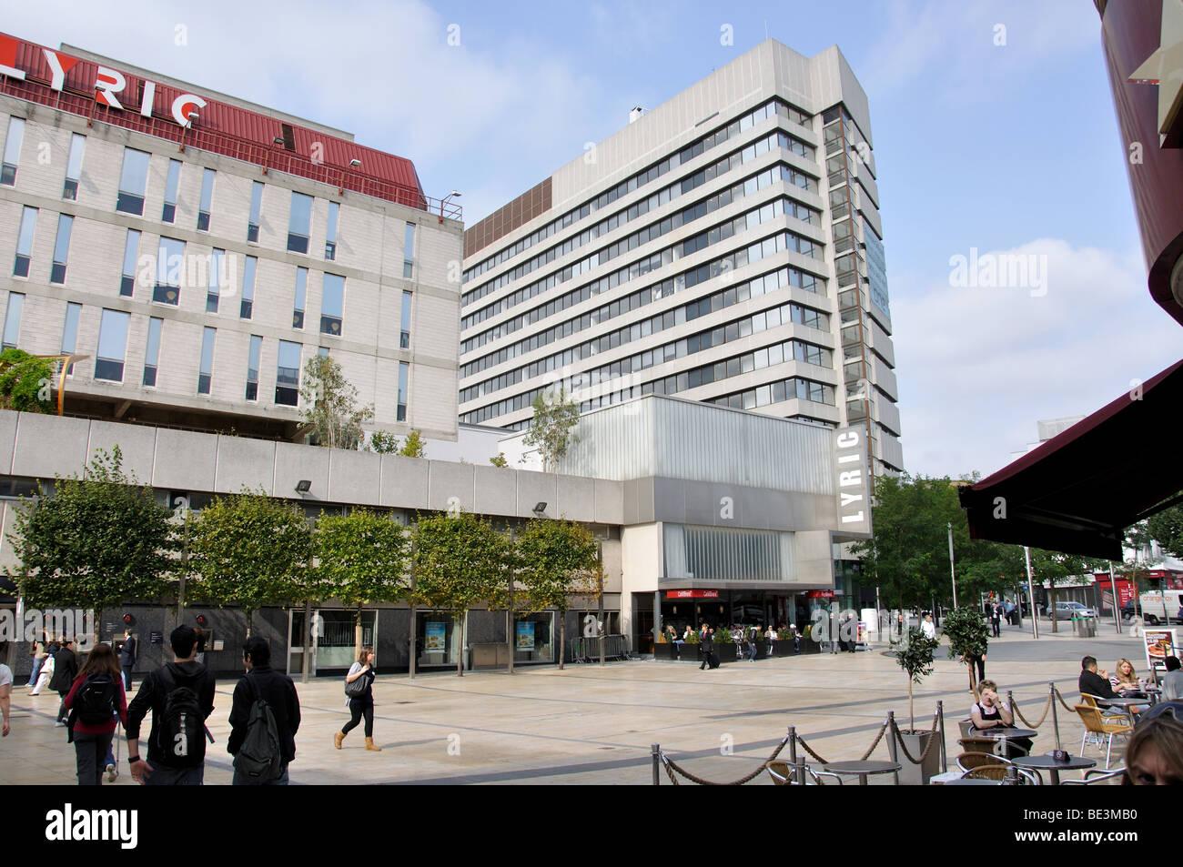 Lyric Square, Hammersmith, London Borough of Hammersmith and Fulham, London, England, United Kingdom - Stock Image