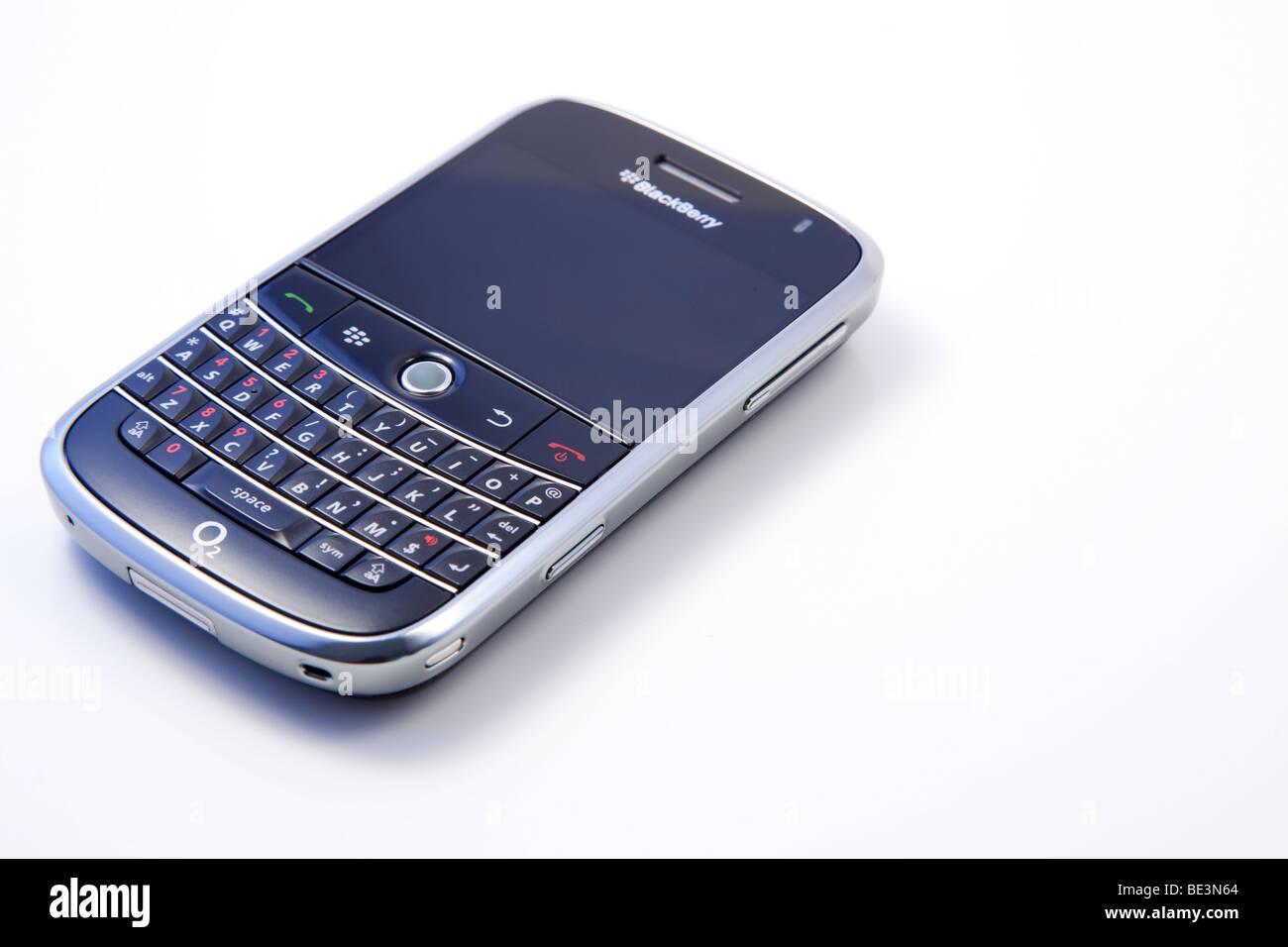 BlackBerry Bold 900 mobile phone device, studio shot - Stock Image